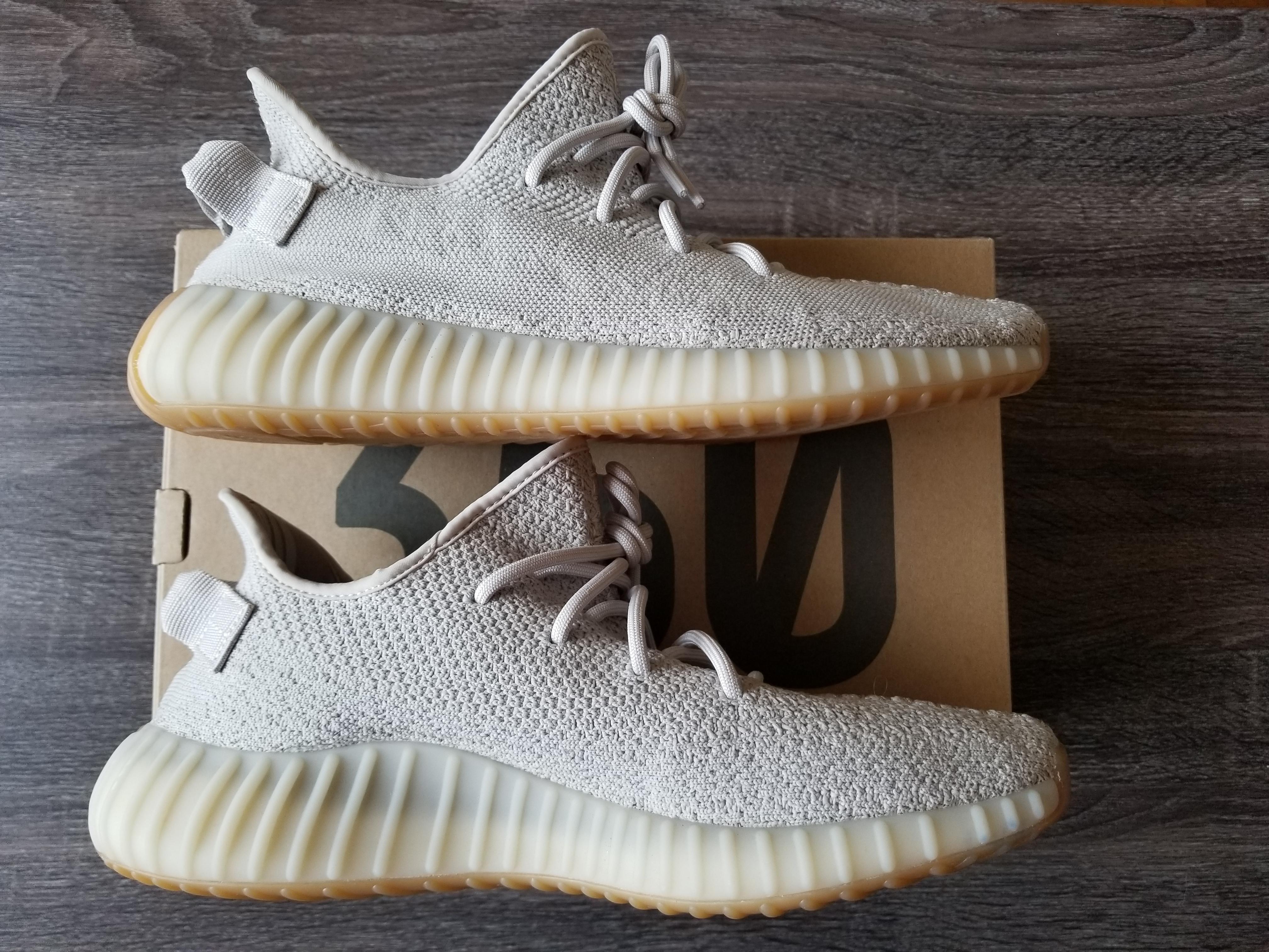 08798cb5088 Adidas Kanye West ×. YEEZY BOOST 350 V2 SESAME