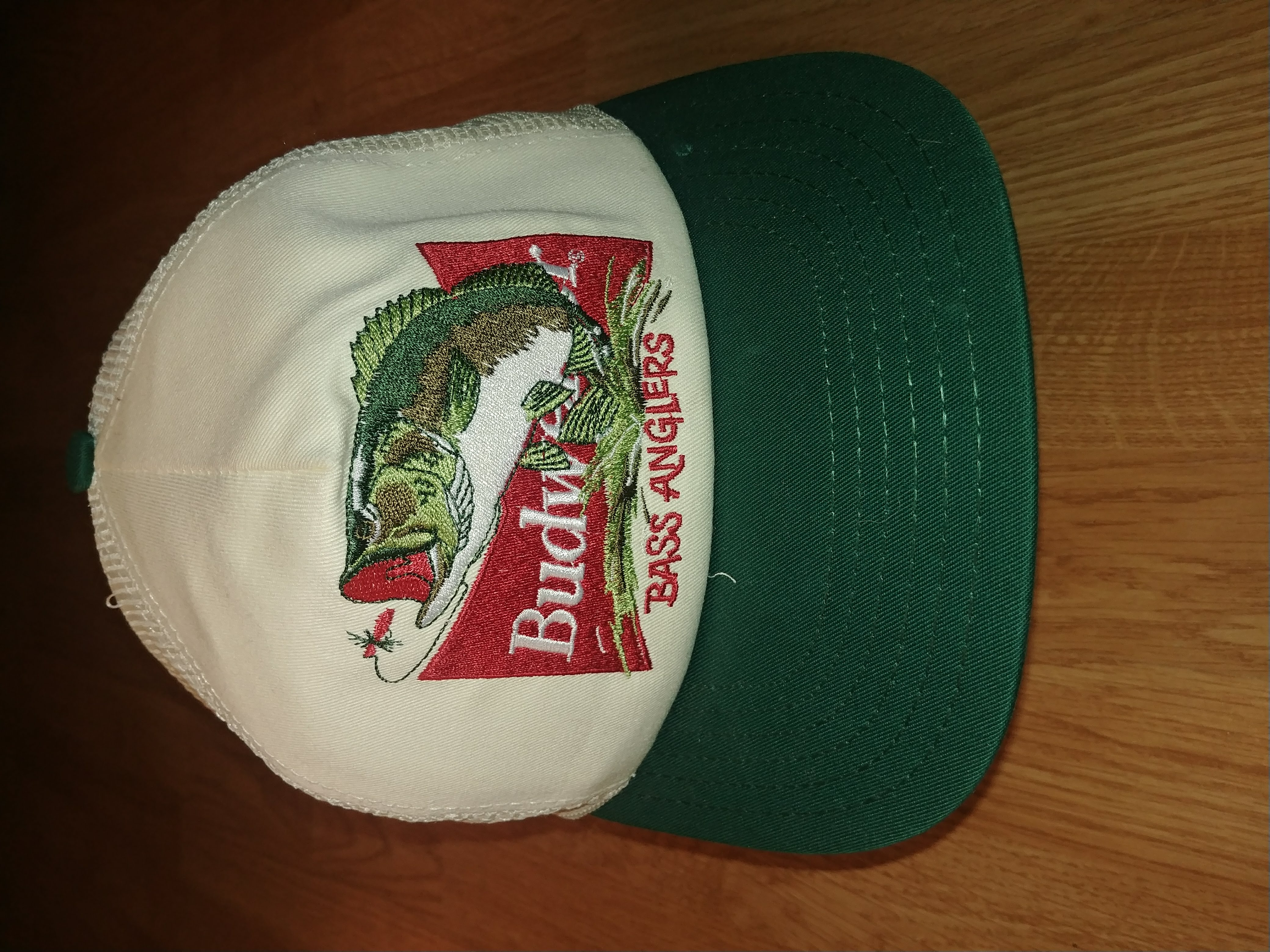 c3f85e24978c9 Budweiser Vintage 90 s Budweiser Bass Anglers Fishing Snapback Trucker Hat  Size one size - Hats for Sale - Grailed