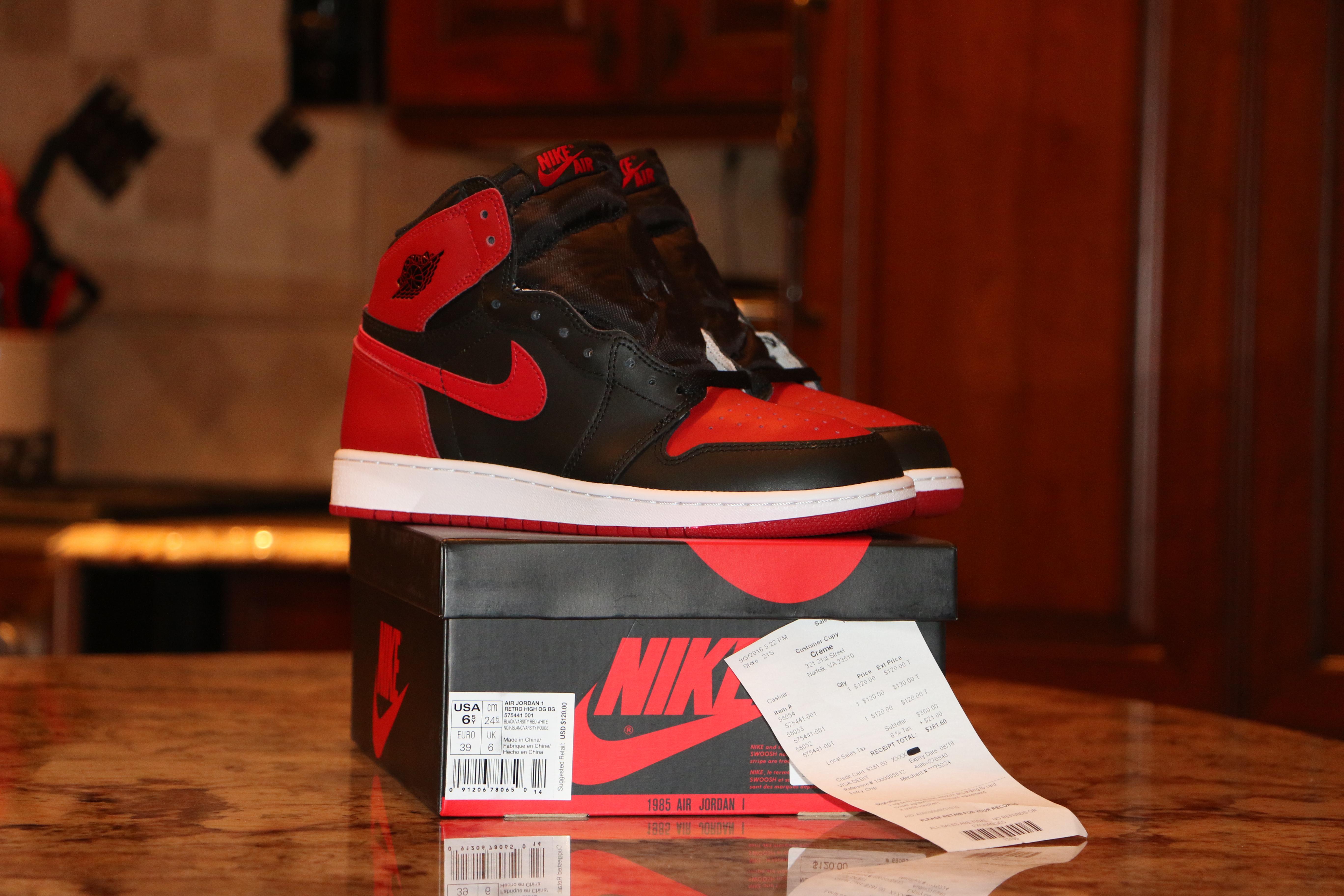 the latest 8e086 60f56 Jordan Brand. Nike Air Jordan 1 Retro High OG Banned GS