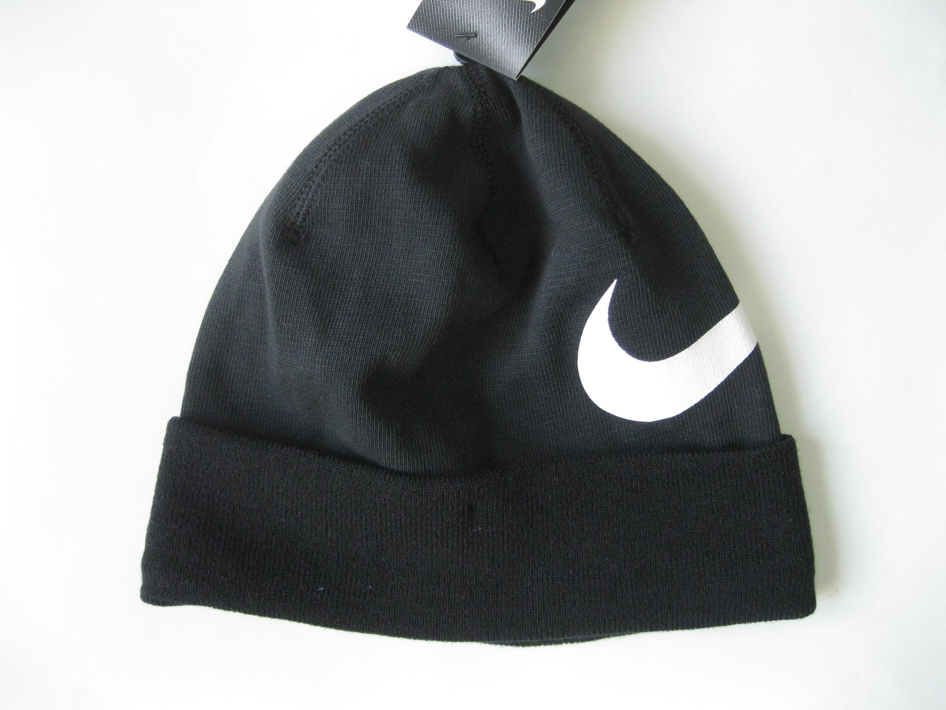 96d428df34c Nike Big Swoosh Cuffed Dri-fit Beanie Black 876501 Size one size - Hats for  Sale - Grailed
