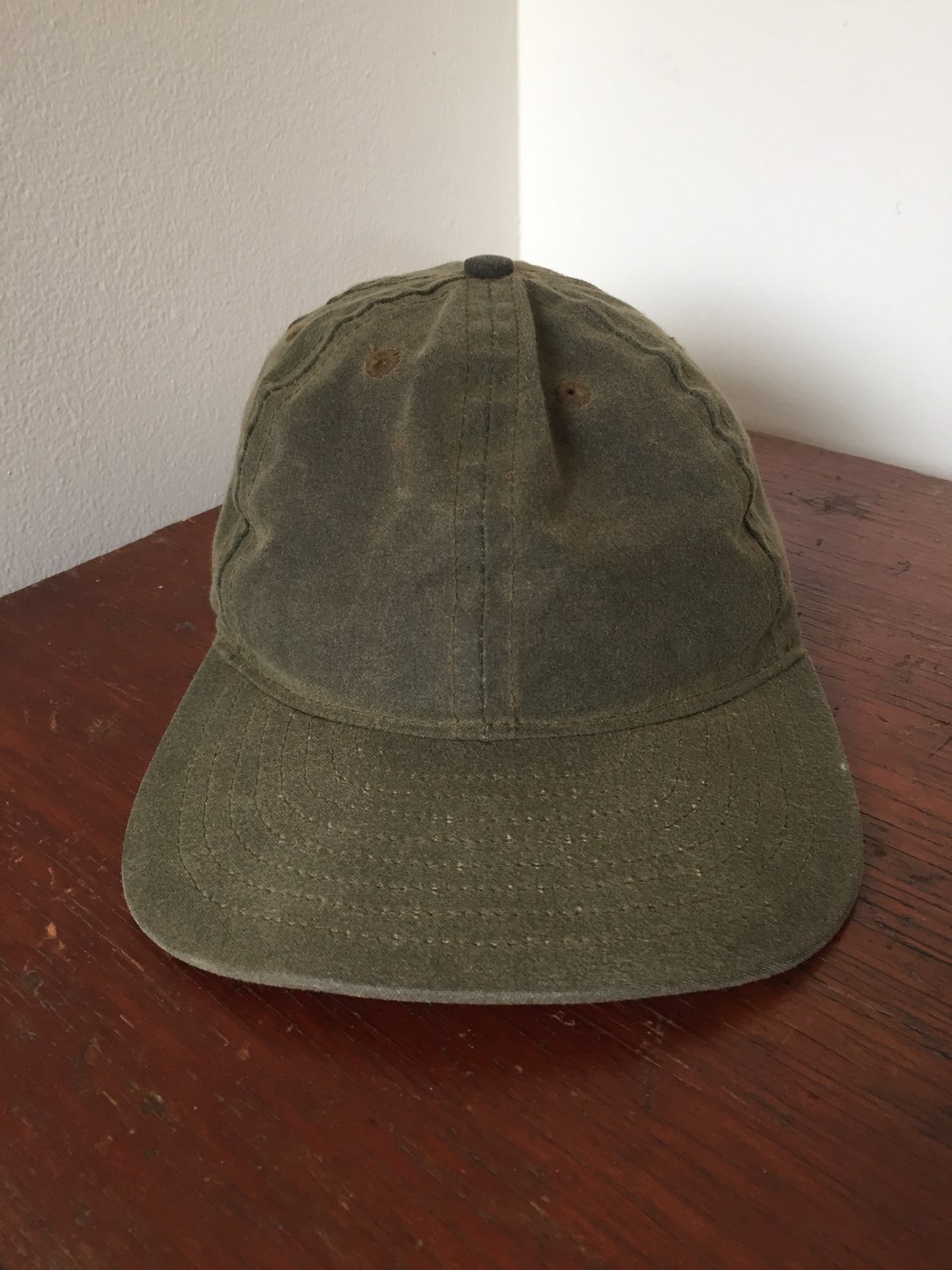 db1f4e5c79011 Fairends Waxed Canvas Ball Cap Hat