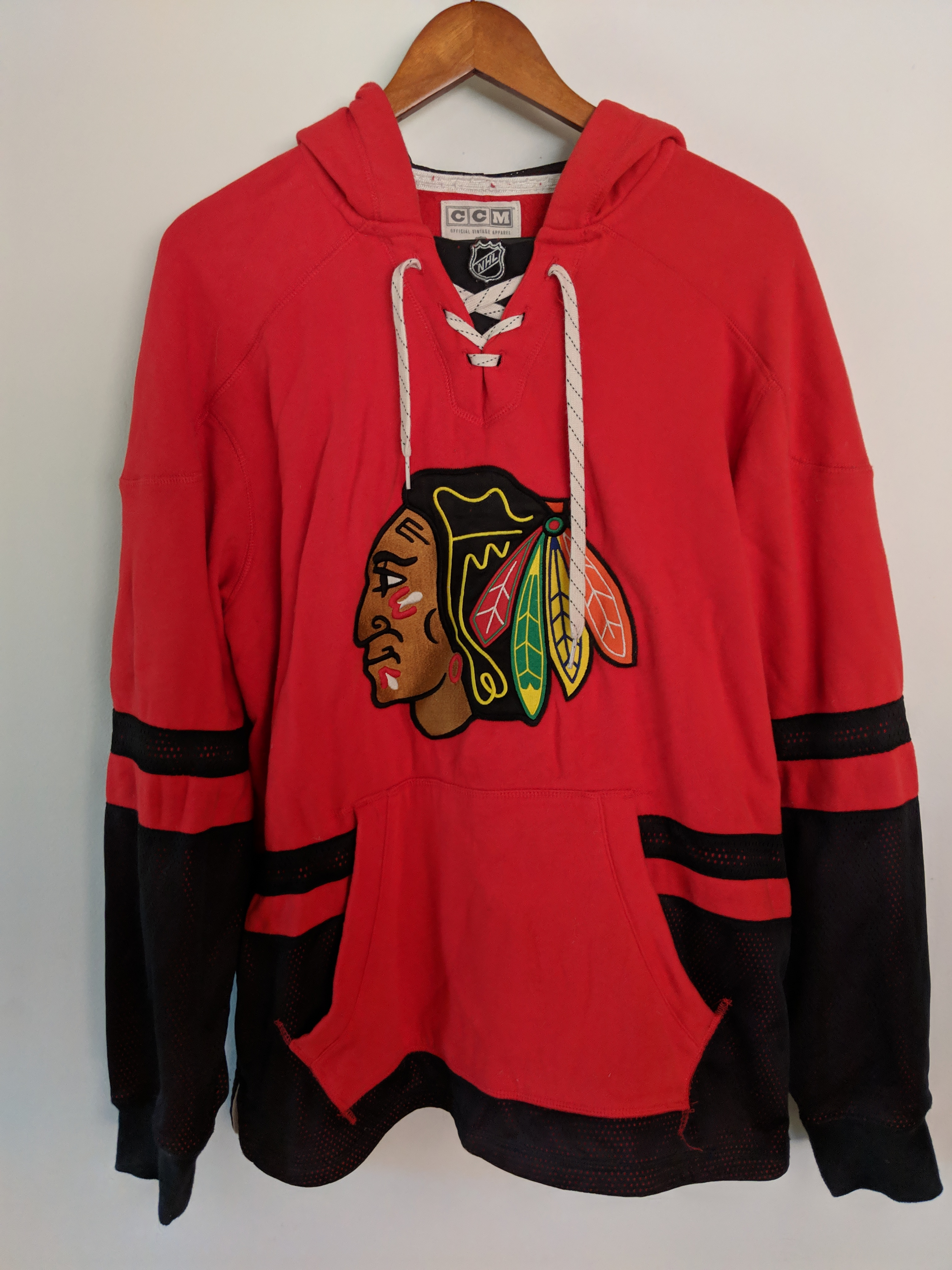 4ca844416 Vintage Chicago Blackhawks Sweatshirts – EDGE Engineering and ...
