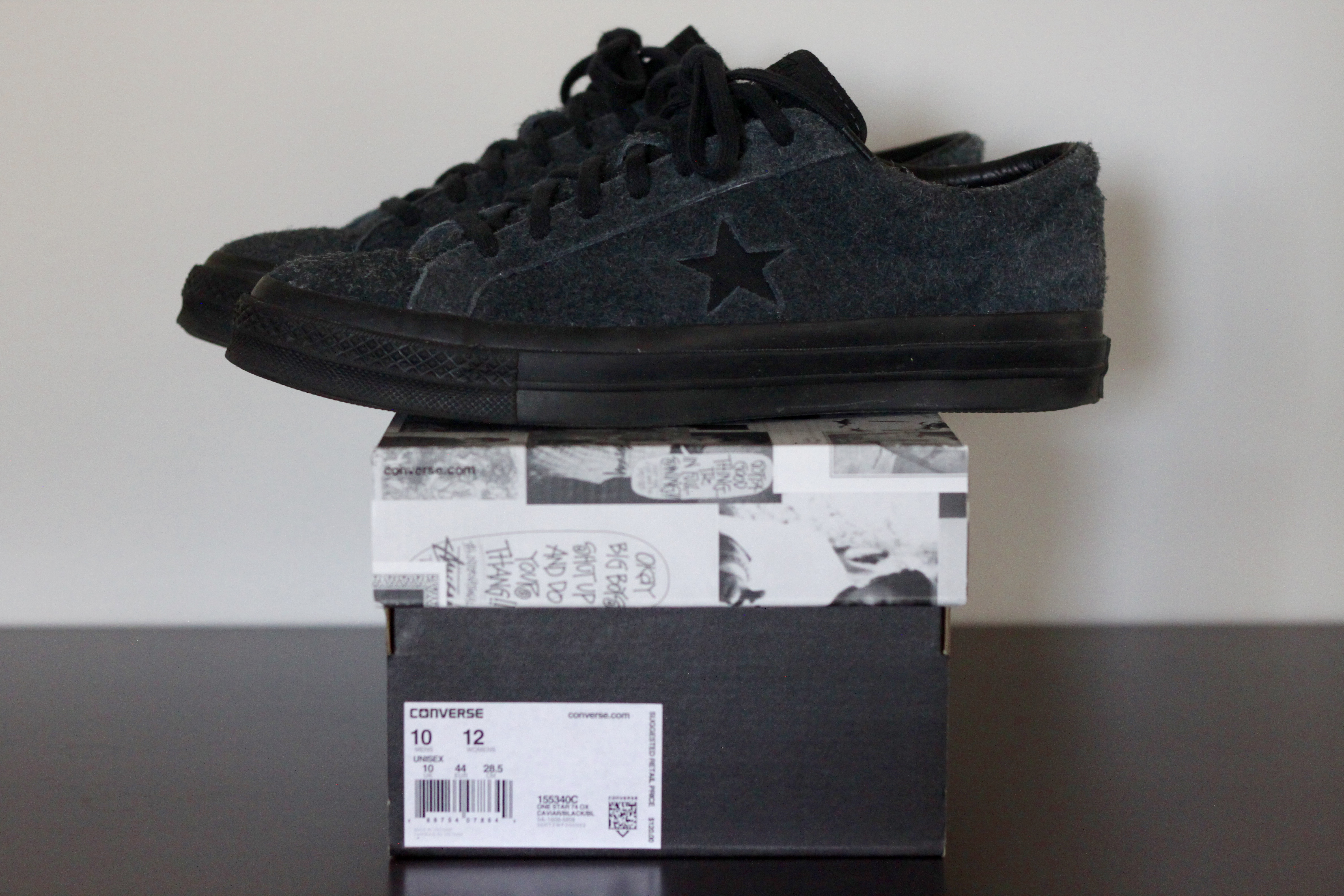 e40ad4a6bdc4 Stussy Stussy x Converse One Star  74 Ox Size 10 - Low-Top Sneakers ...