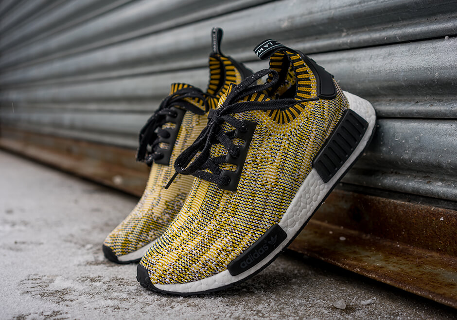 best sneakers 967f9 deb7b NMD R1 PK Yellow Camo US 9