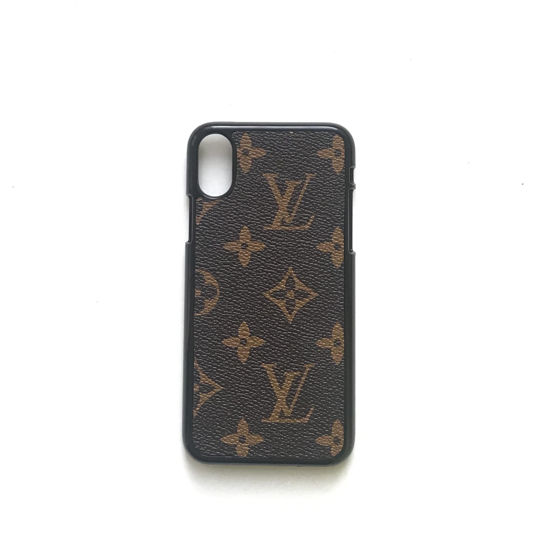 new concept 28065 ac8bf Custom Louis Vuitton iPhone X/7/8/8 Plus/XR/XS/XS MAX Case