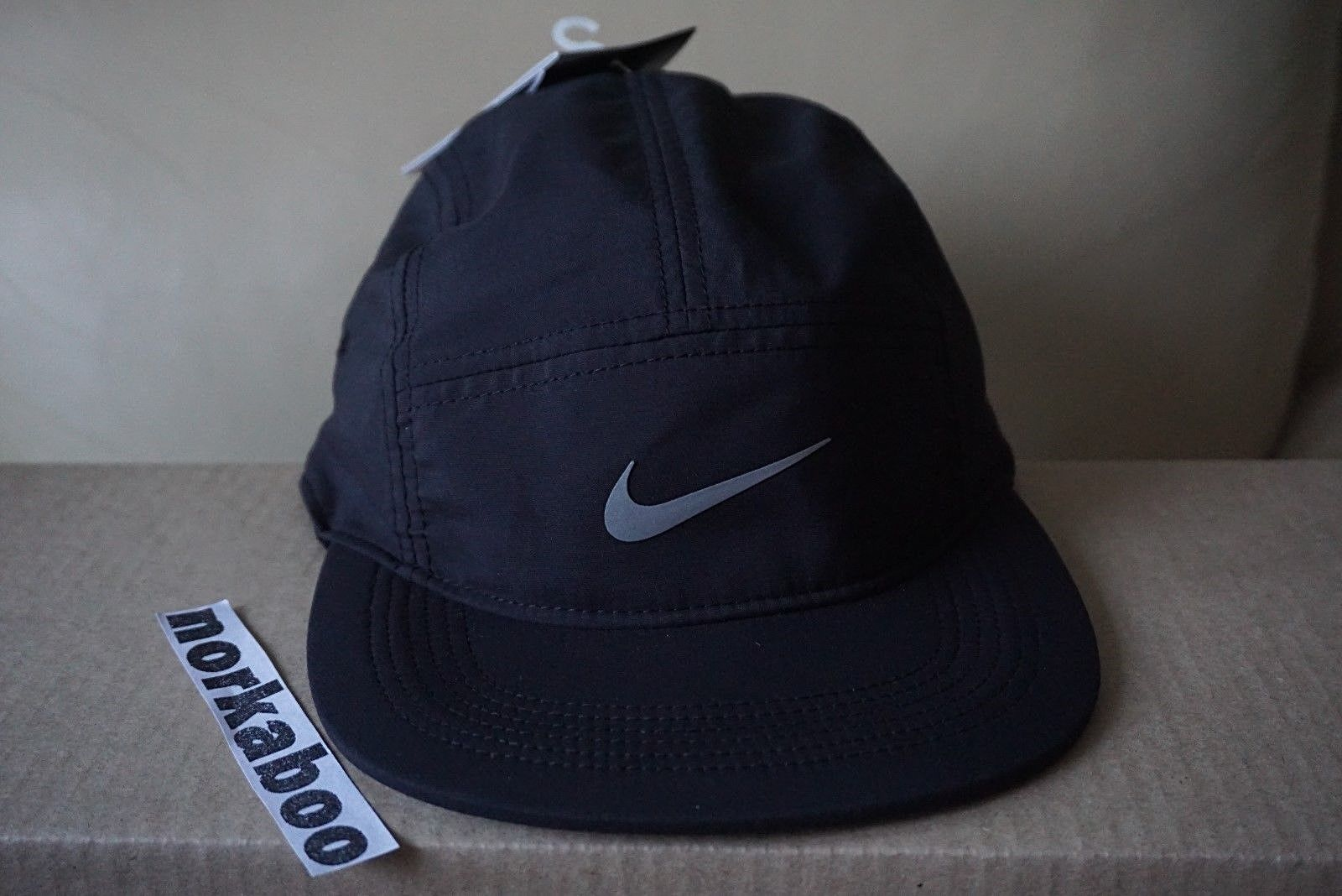 c4dfde413bc Nike Nike Running AW84 Unisex 5 Panel Running Cap Hat 876077-010 Size one  size - Hats for Sale - Grailed