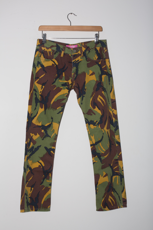59bbb8fc5 JWM PINK Camo Trousers W28 L28 R8