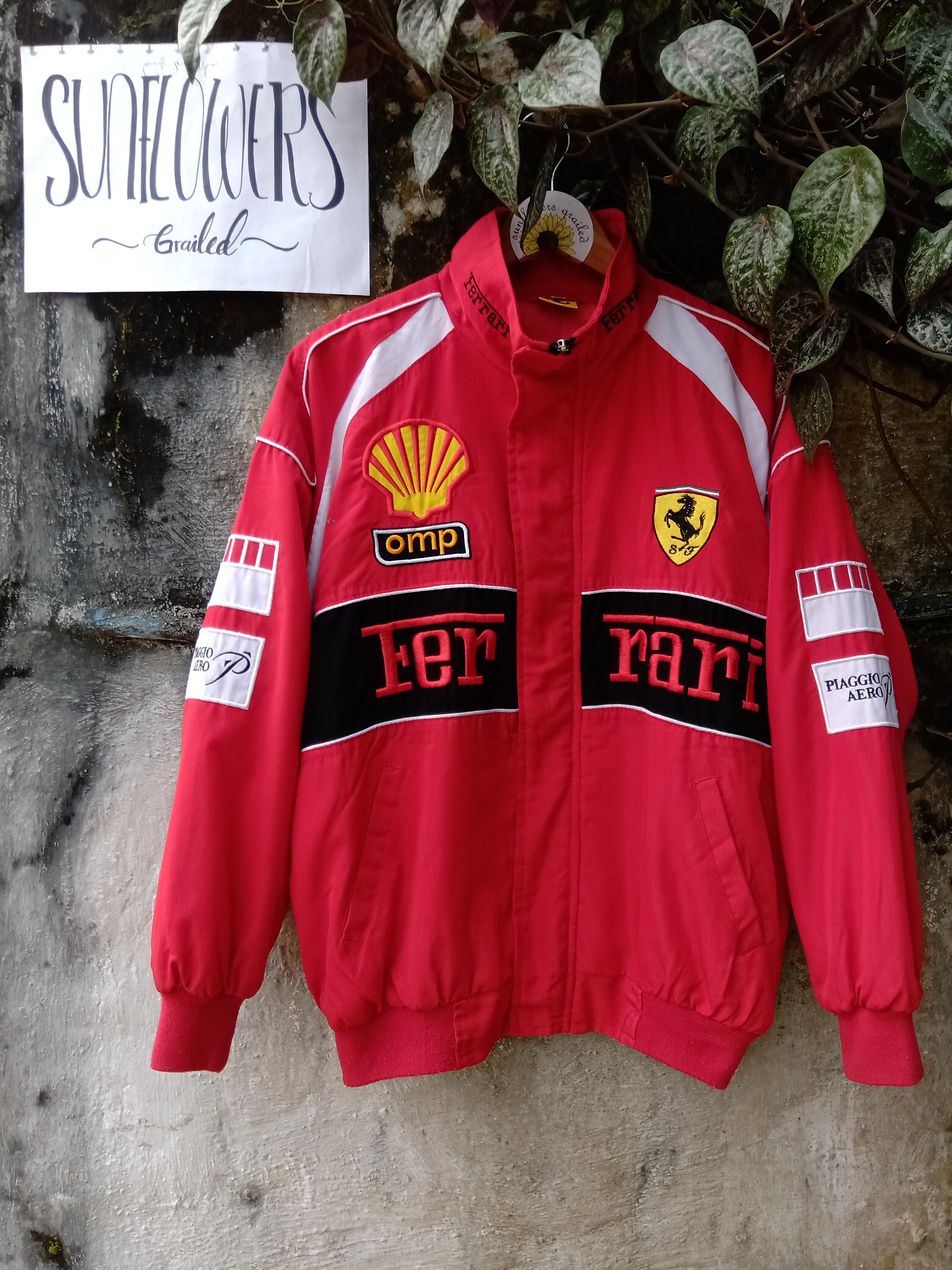 Vintage Rare Vintage Ferrari F1 Racing Jacket Grailed