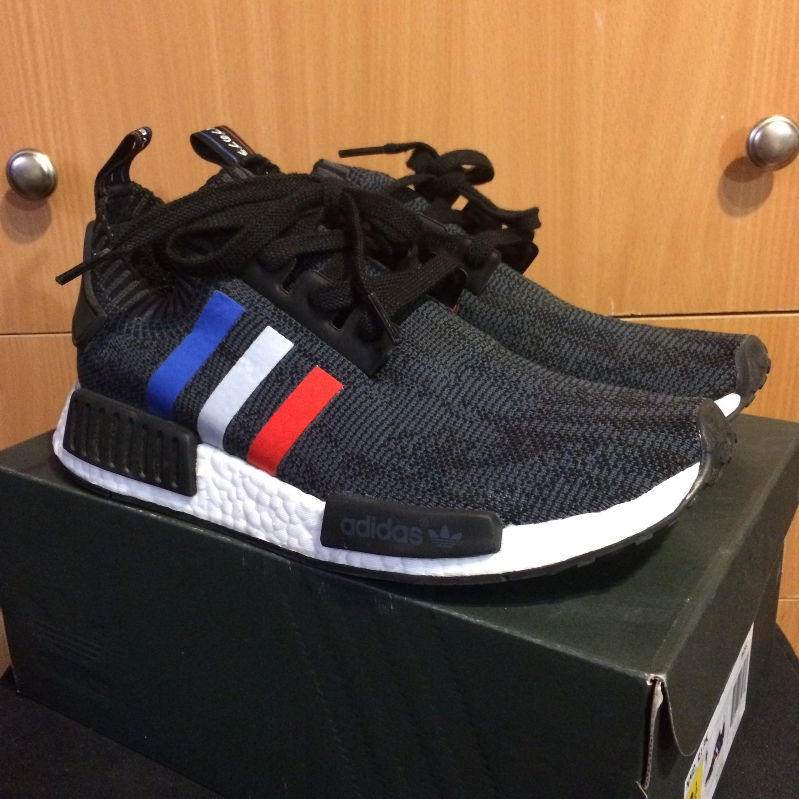 Adidas Final Drop Adidas Nmd Tri Color Stripes Black Size 8 5