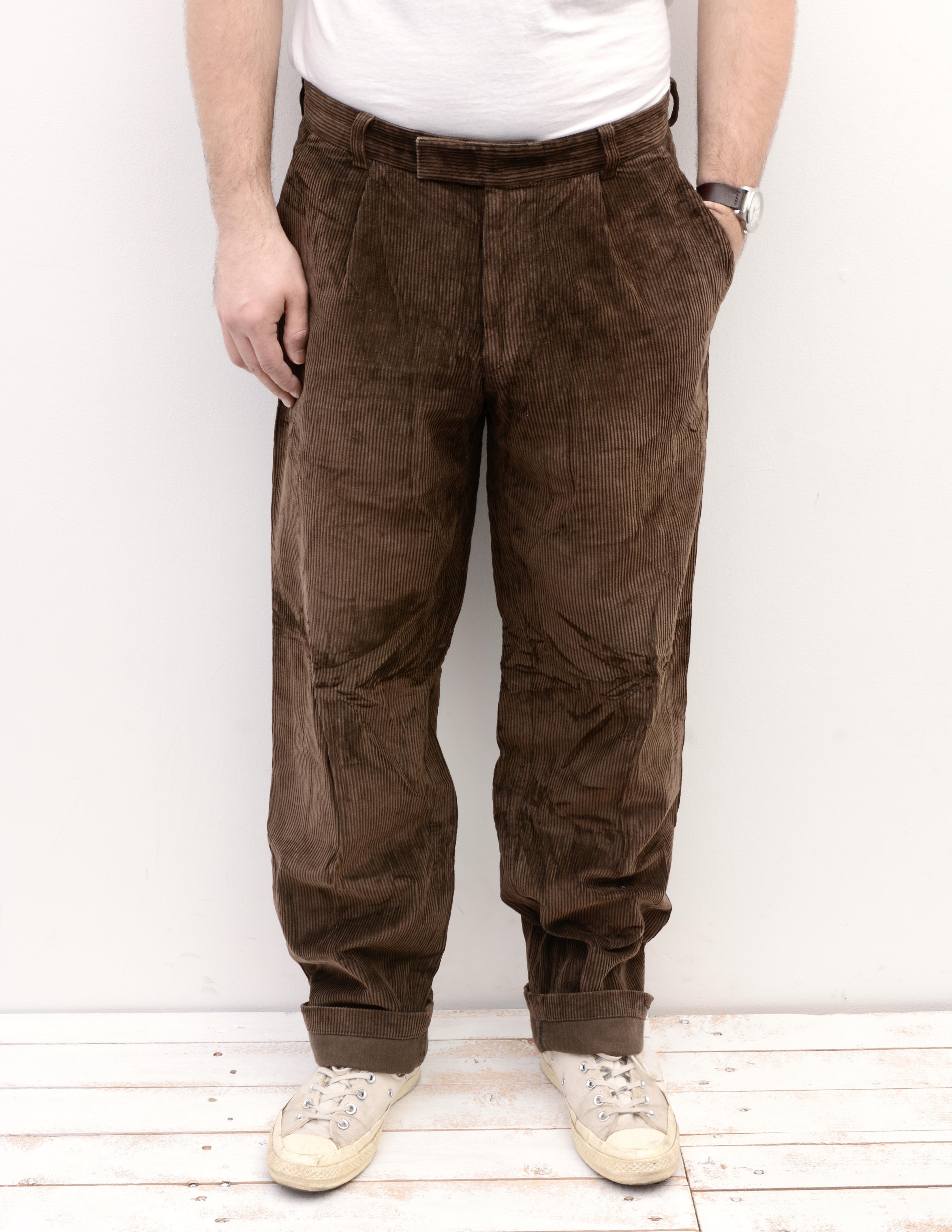Vintage Light HUGO BOSS Trousers Pants Bottoms