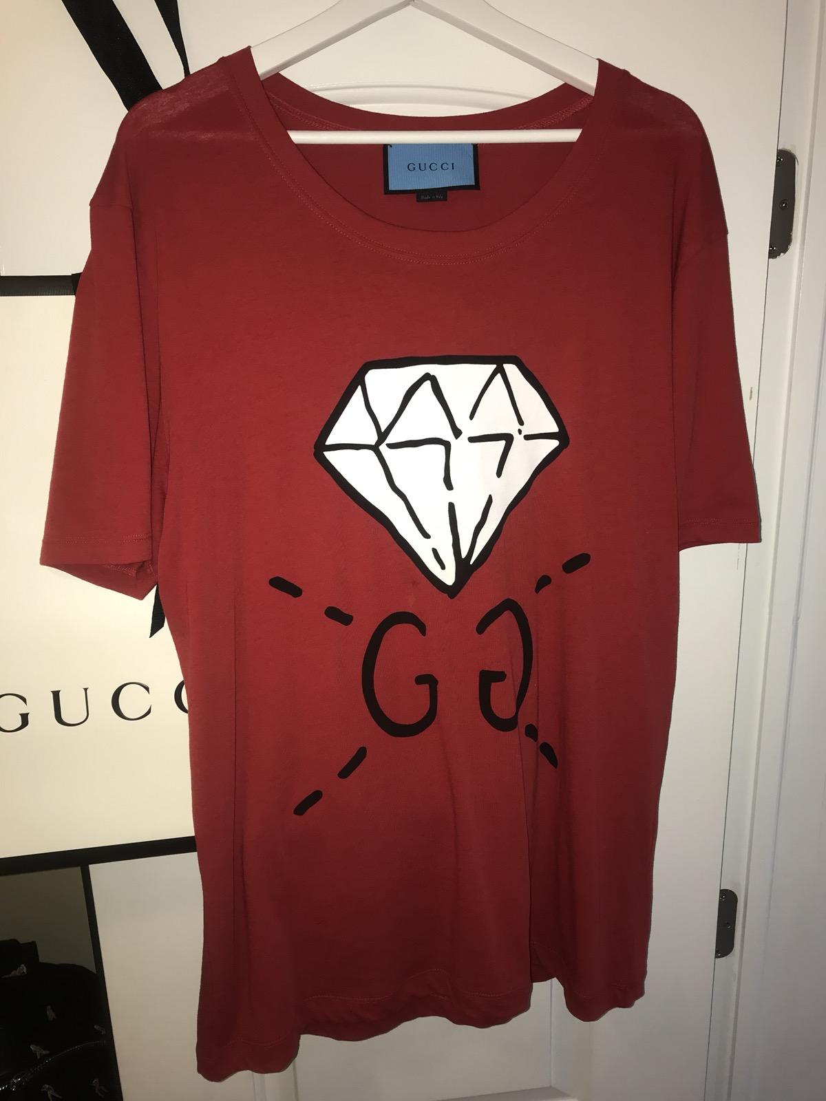070ad1343a9 Gucci ×. GUCCI GucciGhost GG Diamond T-shirt  450