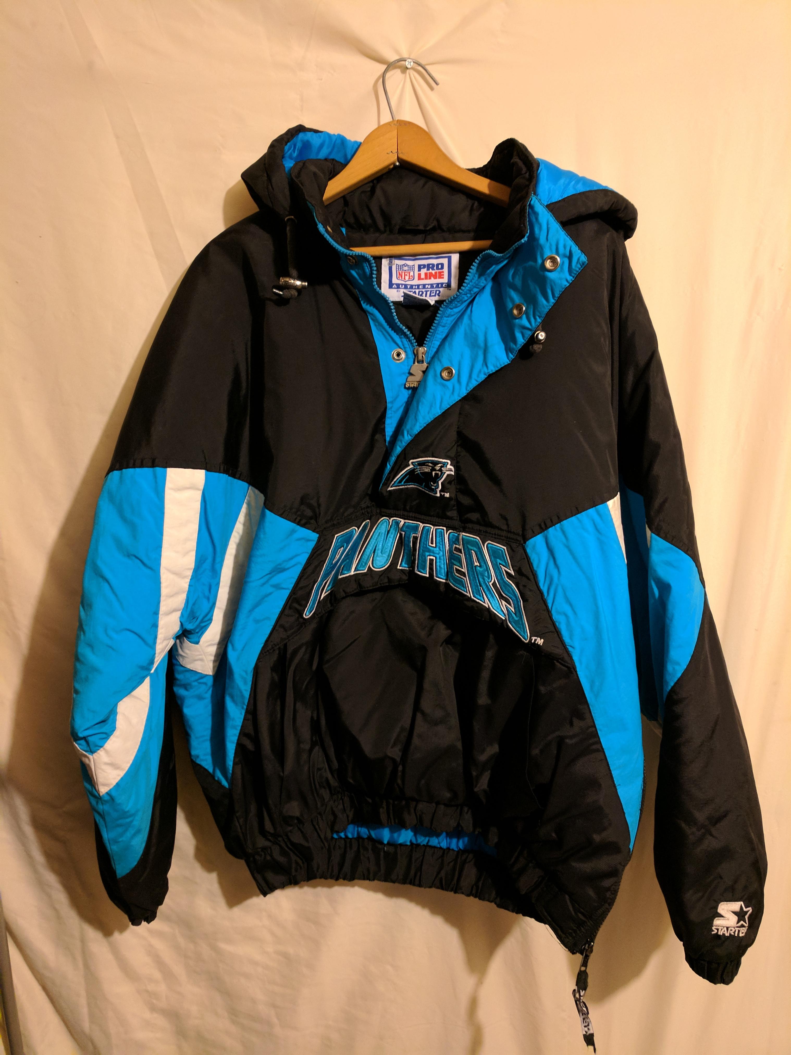quality design 6f2a1 a941f Carolina Panthers NFL Starter Jacket