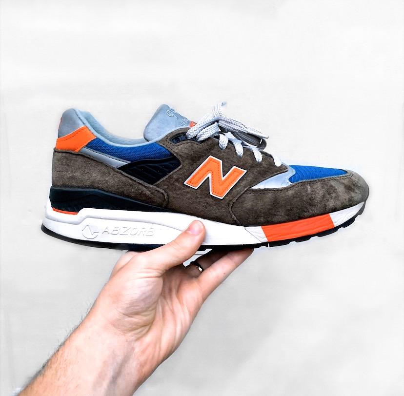 new balance men's trainers 998