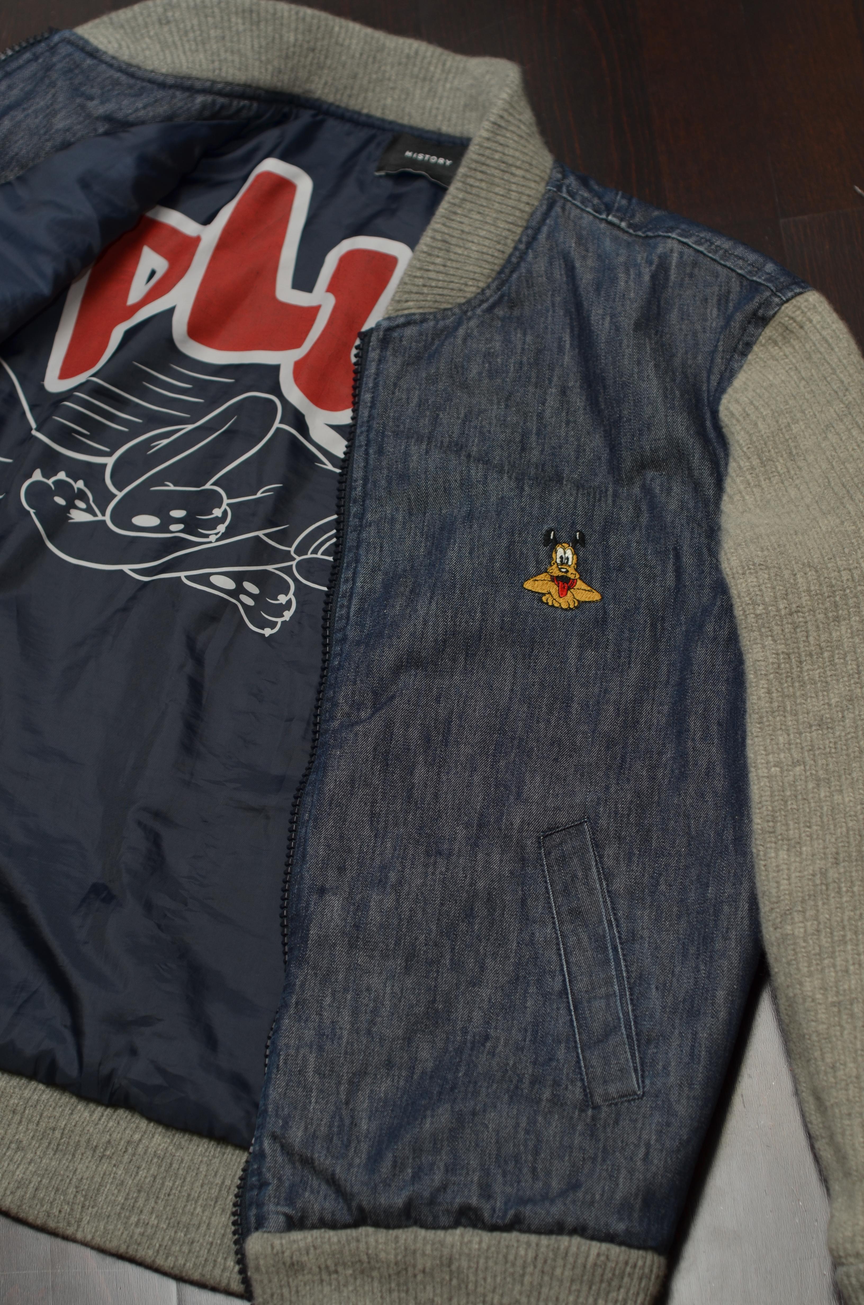 90s vintage ICEBERG wool men blazer with Pluto