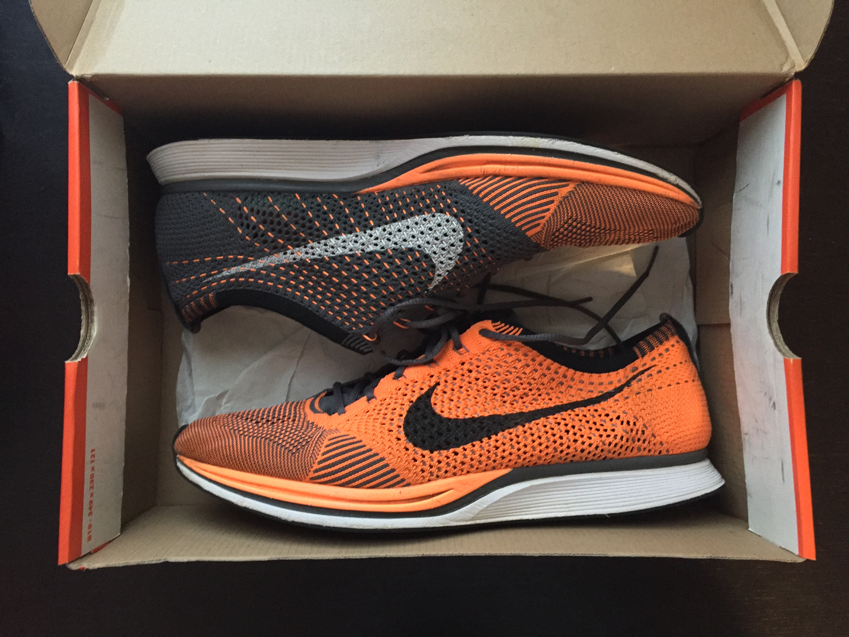 24dea78c5e644 Nike Flyknit Racer total orange 1.0 Size 13 - Low-Top Sneakers for ...