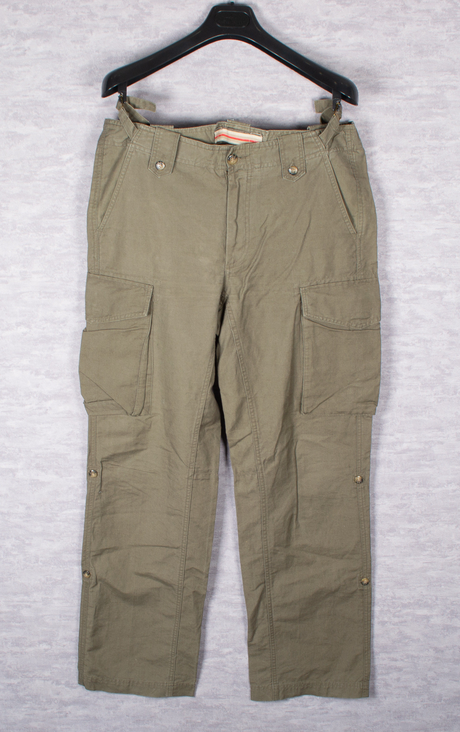 0805f07a34 Burberry ×. military khaki cargo pants. Size: US 36 / EU 52