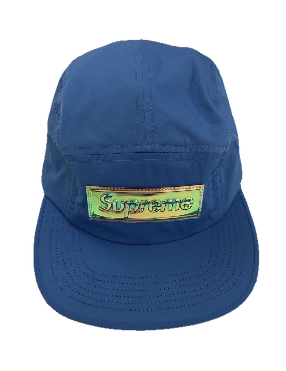 c475fa314a99 Supreme Supreme Iridescent Logo Camp Cap Size one size - Hats for ...