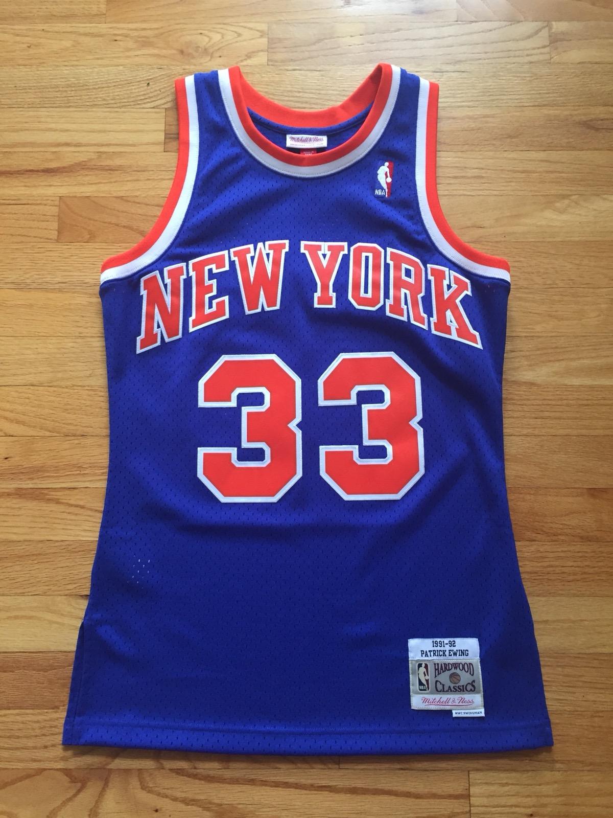 Mitchell   Ness BNWOT New York Knicks Patrick Ewing Swingman Jersey Size s  - Jerseys for Sale - Grailed 213d2bf4e