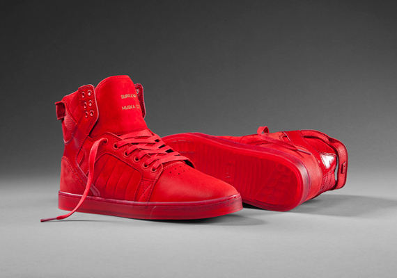 Supra Skytop Red Red Red Size 9.5 - Hi-Top Sneakers for Sale - Grailed fa184872a055