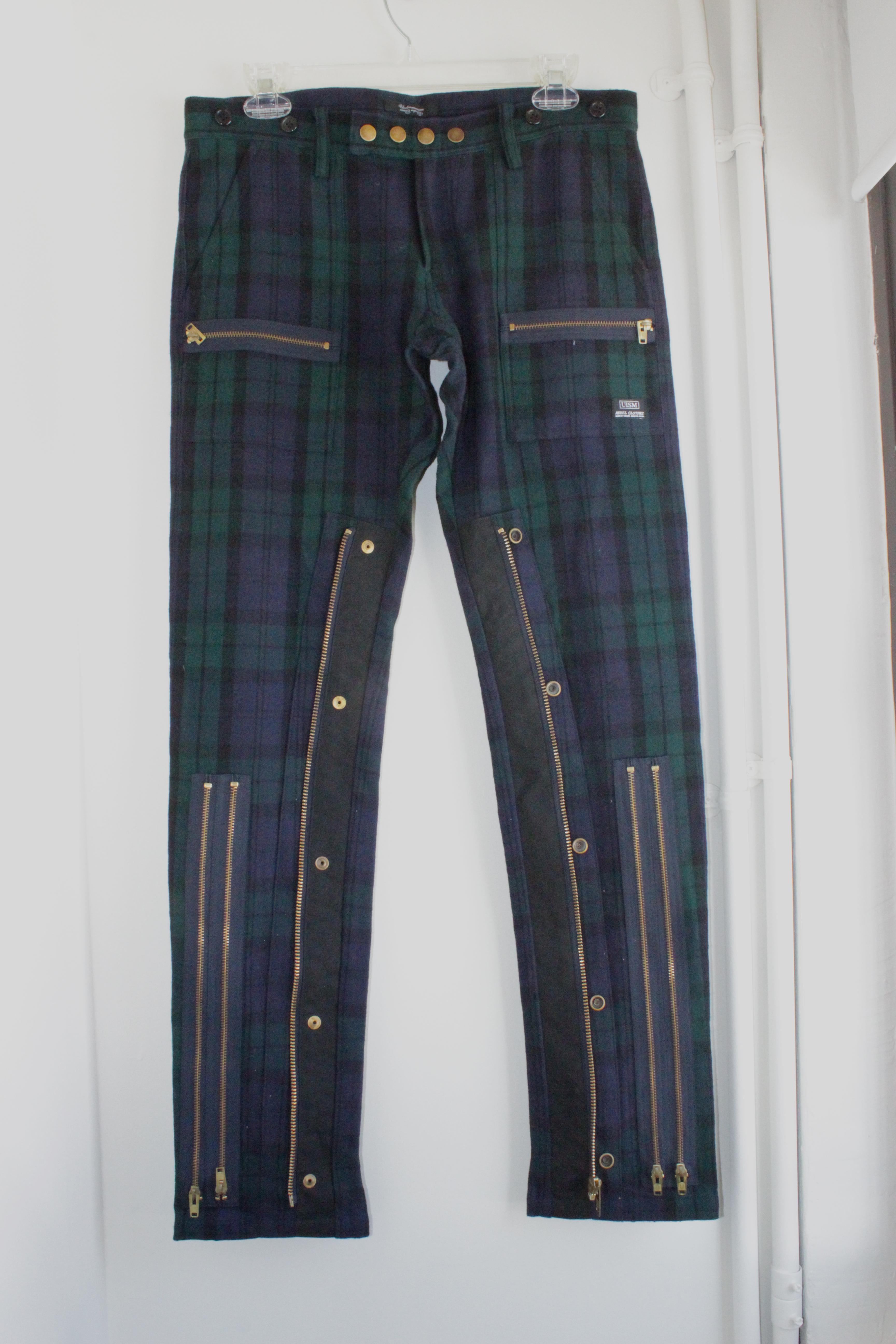 0f6c2a081a Undercover (last Drop) Bondage Flannel Pants