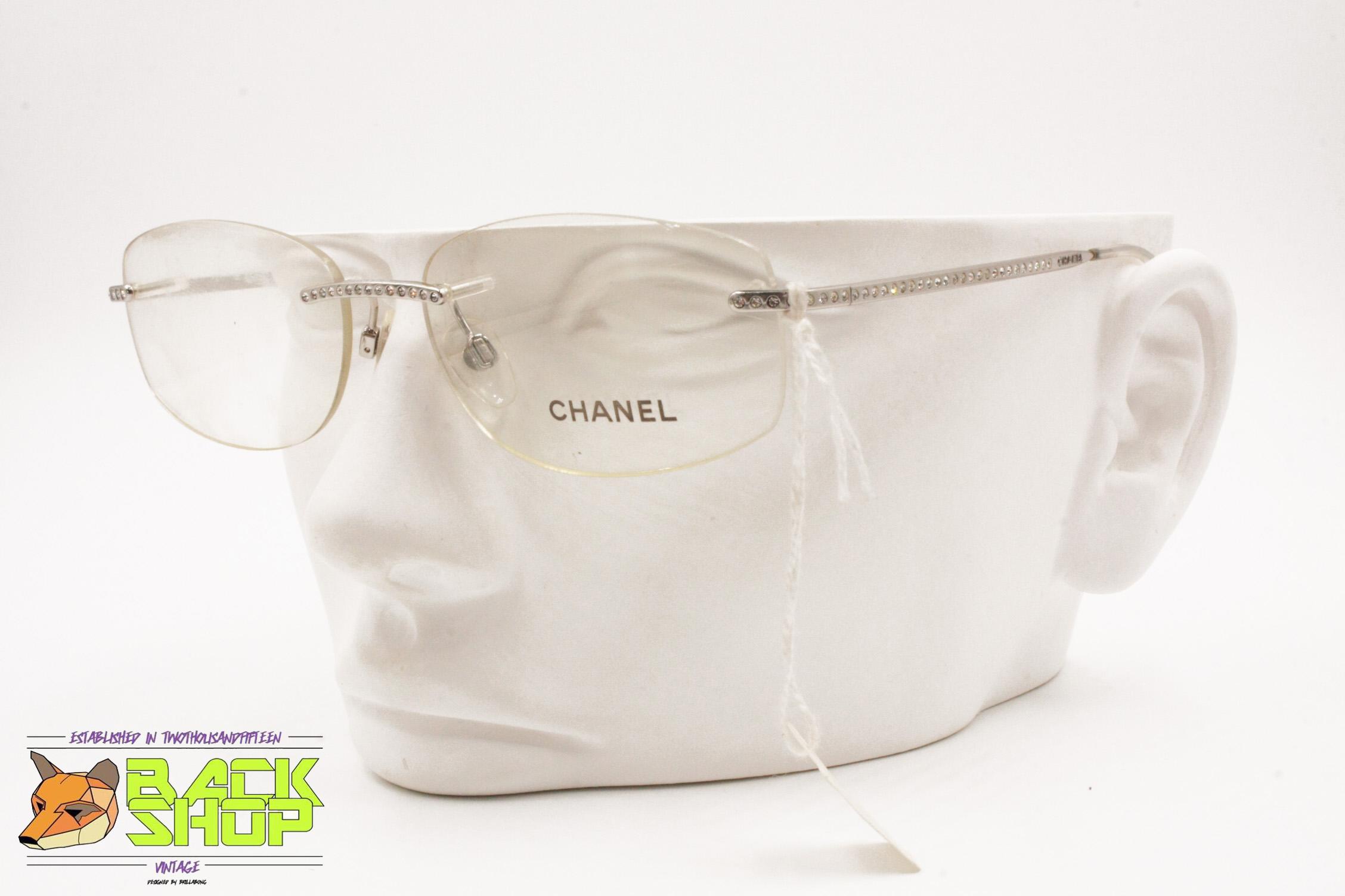 f2efa75f7e7d Chanel Chanel Rimless Frame Reading Glasses Mod. 2054 B C.124, Women ...