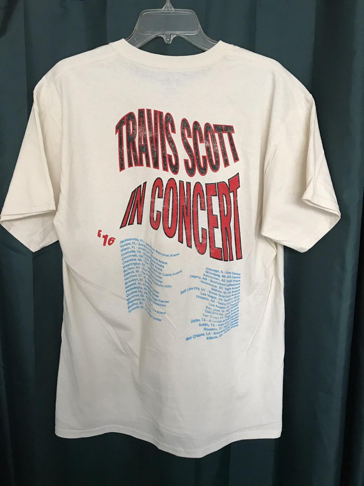 672820272869 Travis Scott 2016 Travis Scott Rodeo Anti Tour Longhorn Bull Shirt | Grailed