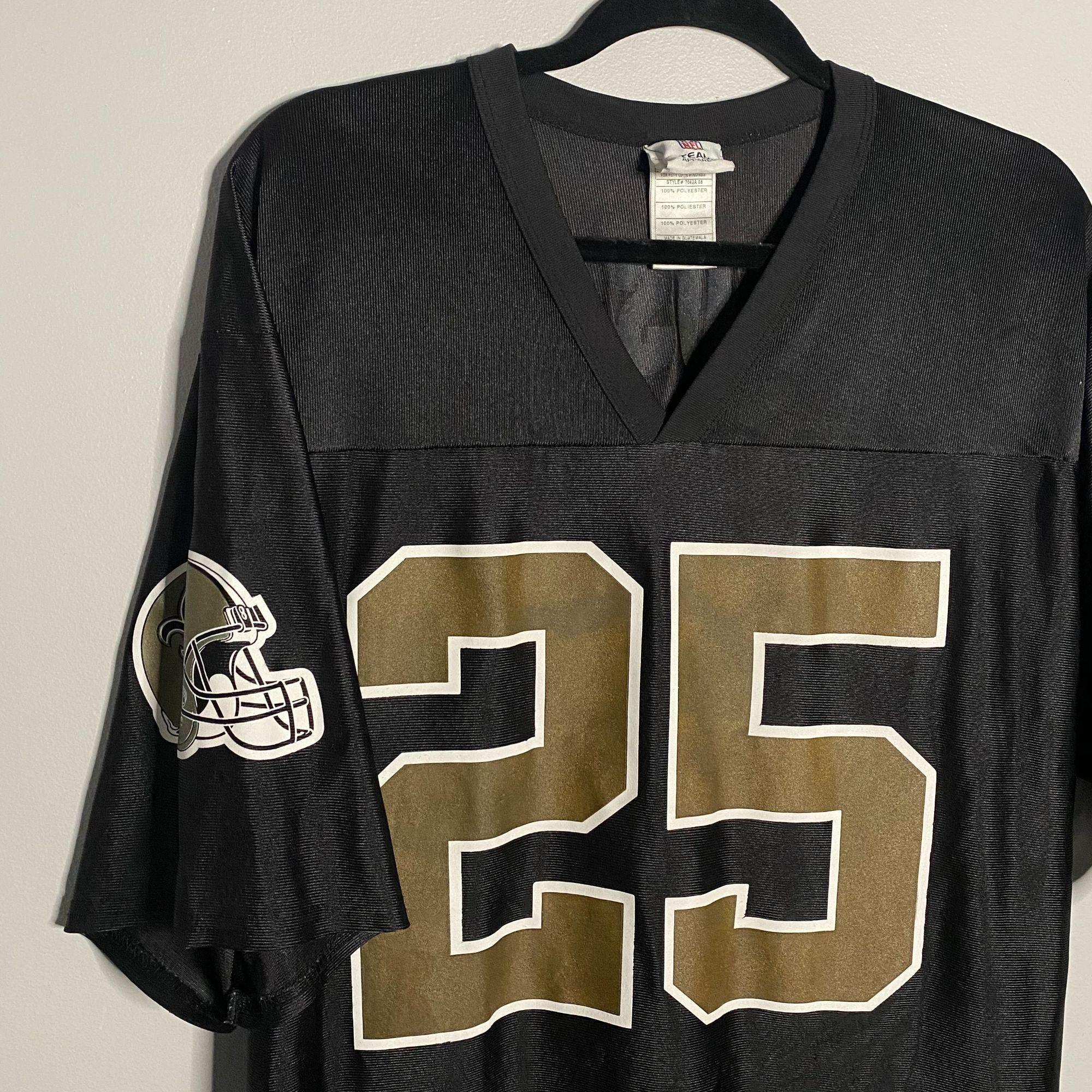 NFL Reggie Bush New Orleans Saints Jersey L