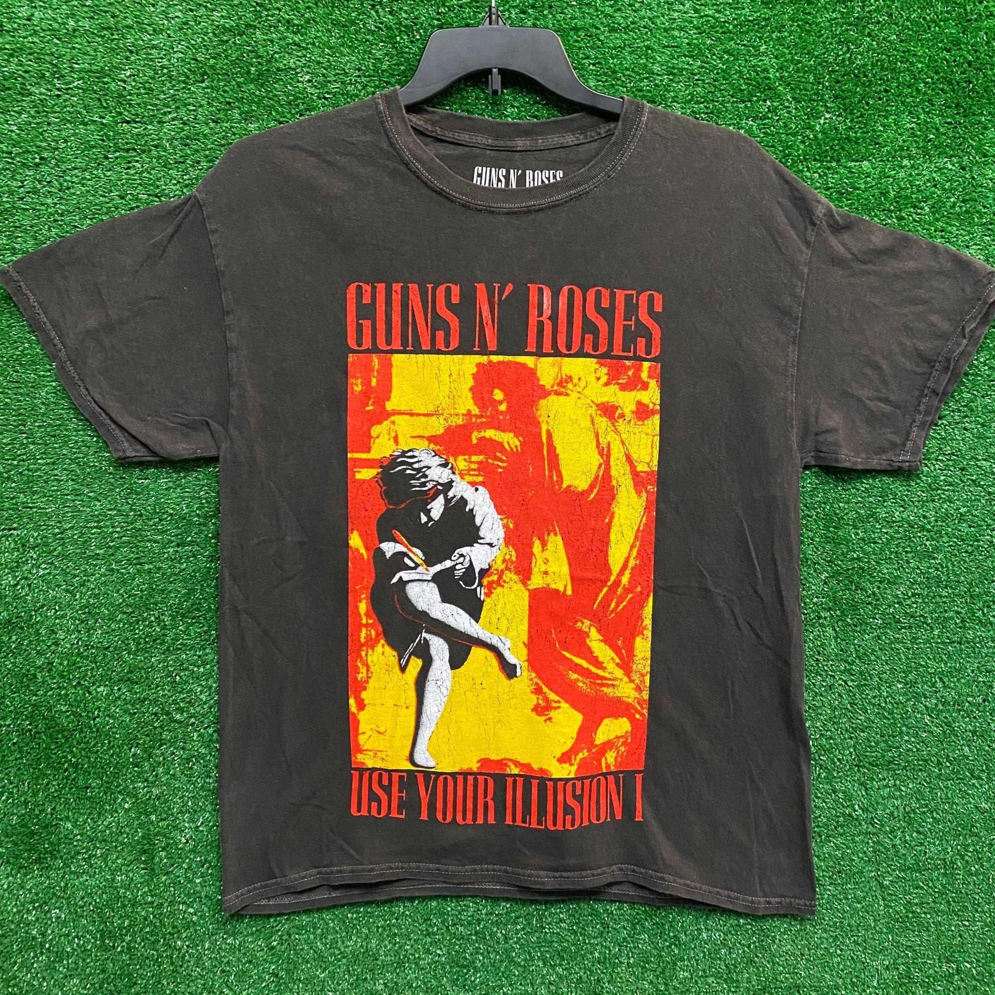 Guns n Roses Cherub Use Your Illusion Rock Official Tee T-Shirt Mens Unisex