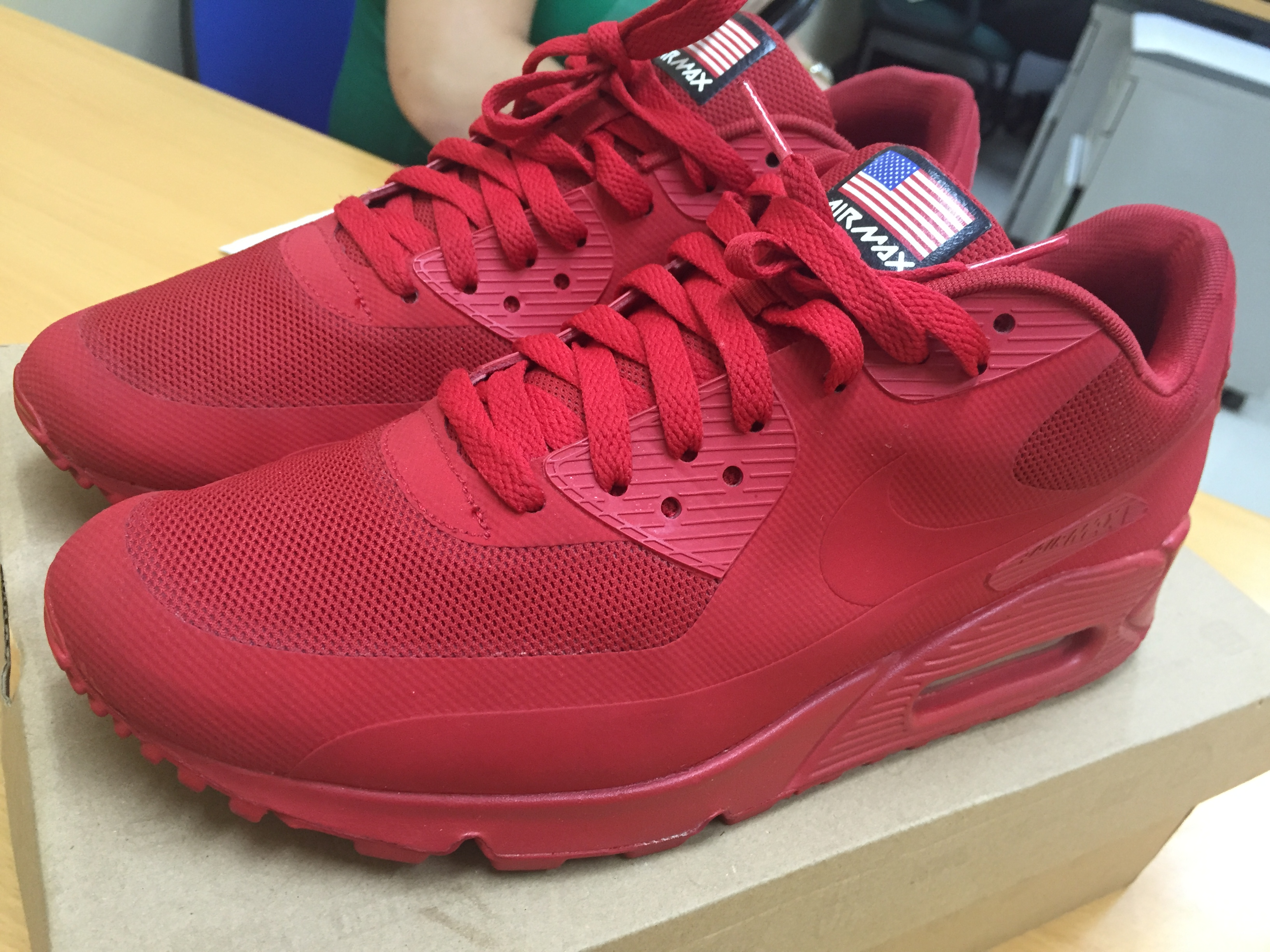 10d8e37afc Nike Nike Air Max 90 Independence Day - Red | Grailed