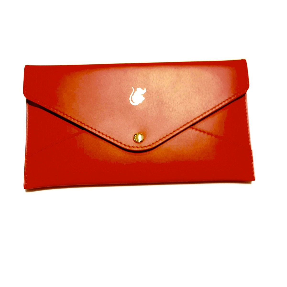Louis Vuitton Louis Vuitton Leather Red Packet Envelope Grailed