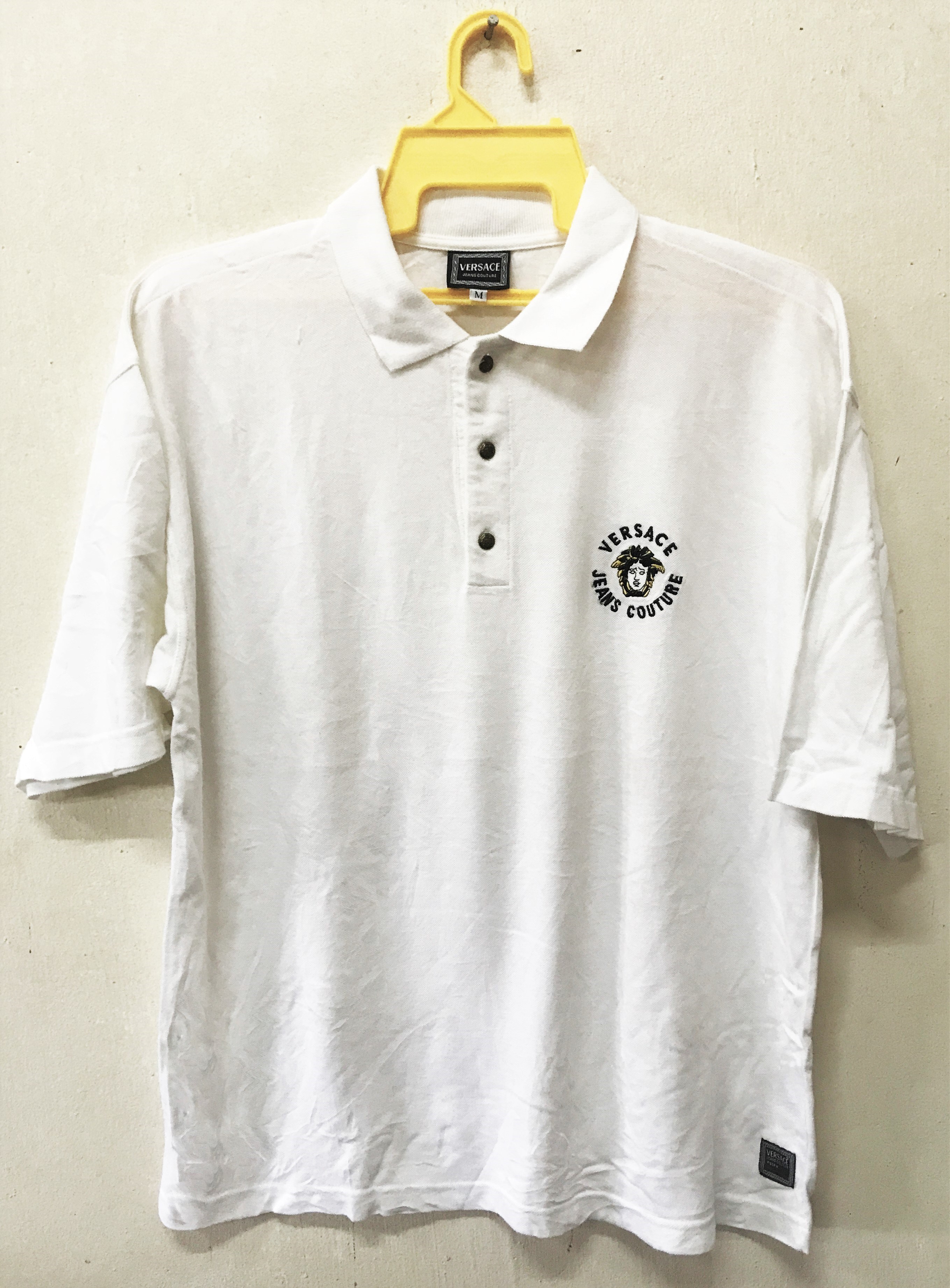 2aacd8ba Versace Jeans Embroidered Logo Polo Shirt - raveitsafe