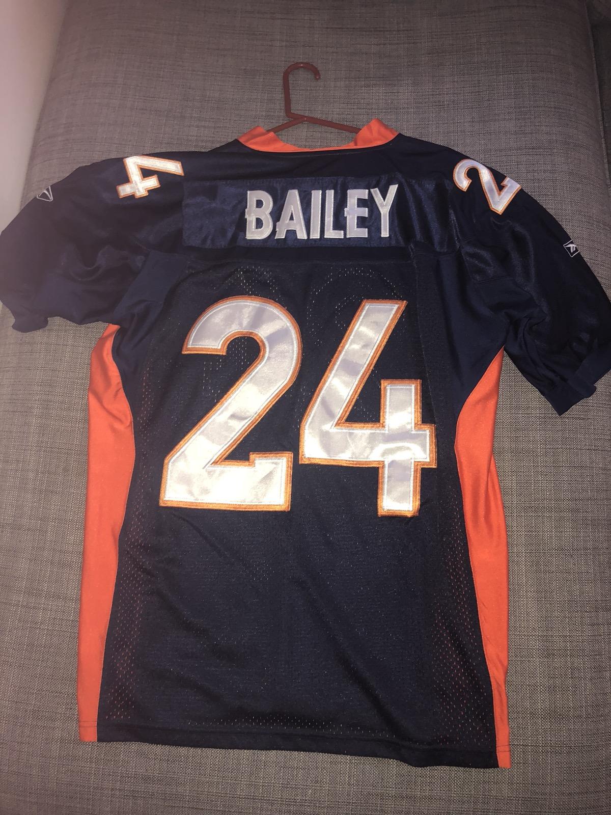 reputable site fb5de c9cdd Champ Bailey Broncos Jersey