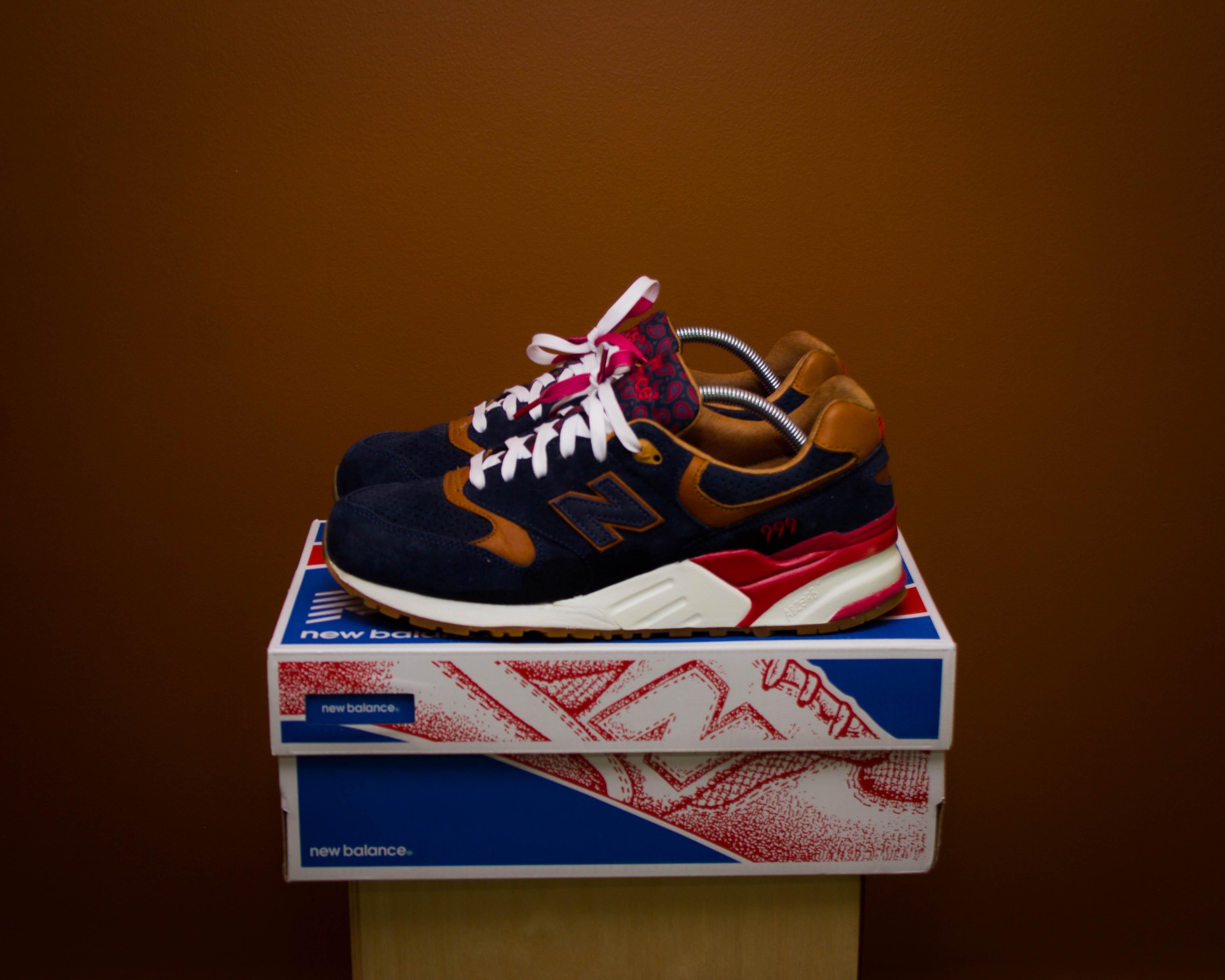 sports shoes 06c51 d9e36 New Balance 999 x Sneaker Politics Detectives Curse