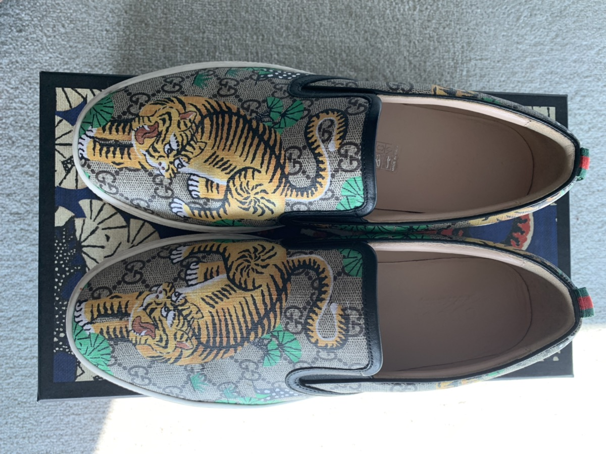 952cc4d2e Gucci Gucci Bengal Floral Slip On Sneakers | Grailed