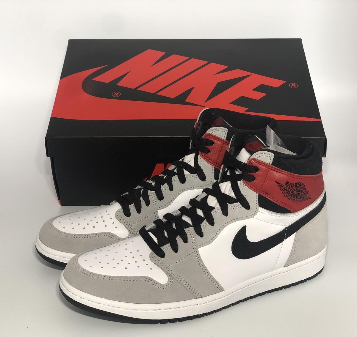 Nike Air Jordan 1 Retro High Og Light Smoke Grey Grailed