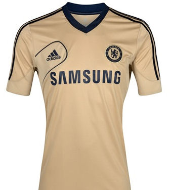promo code abc4f 95a62 12-13 Chelsea FC Training Top (Gold) S/S