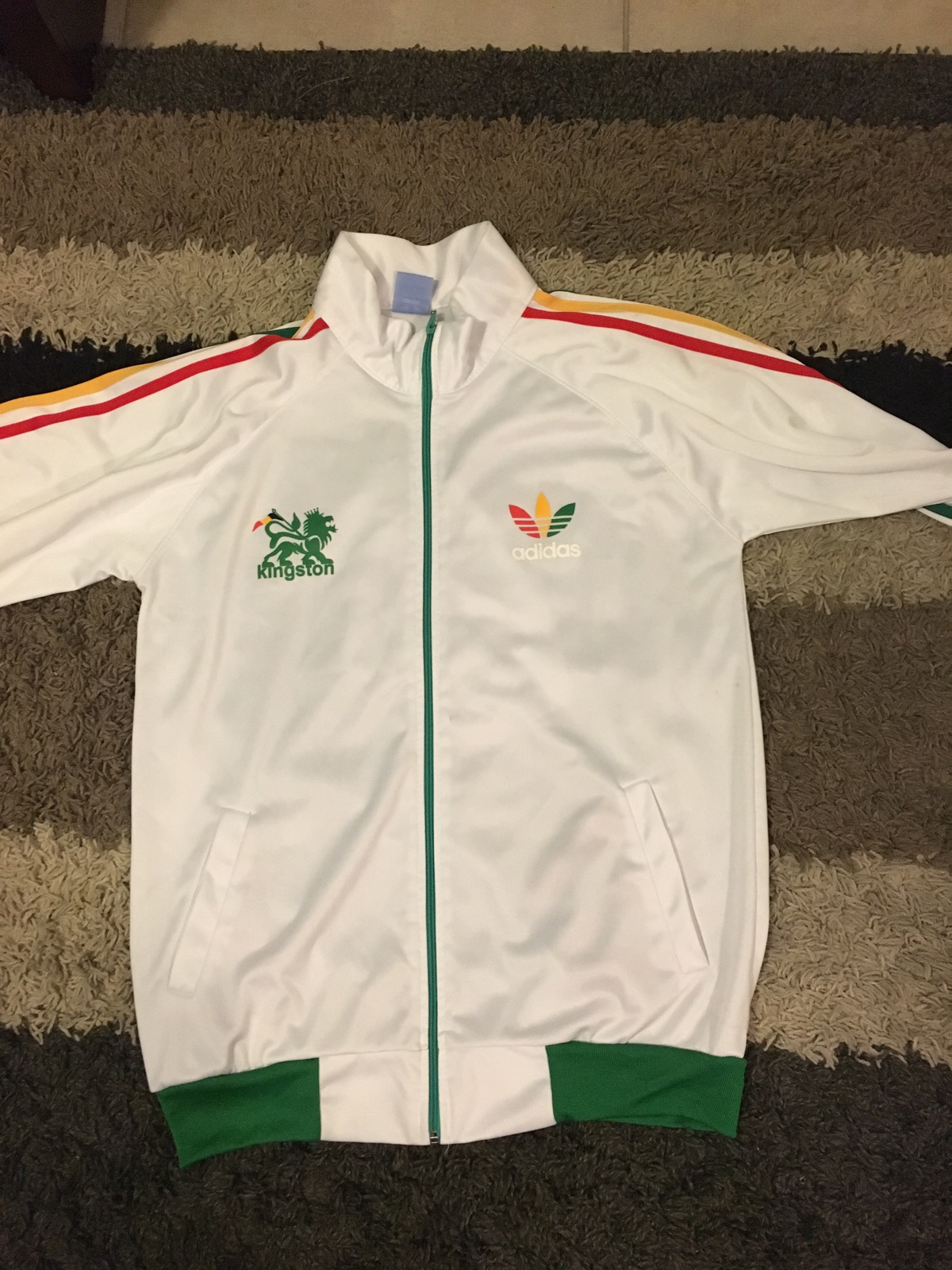 Brote Aprendizaje Continuación  Adidas Bob Marley Jacket | Grailed