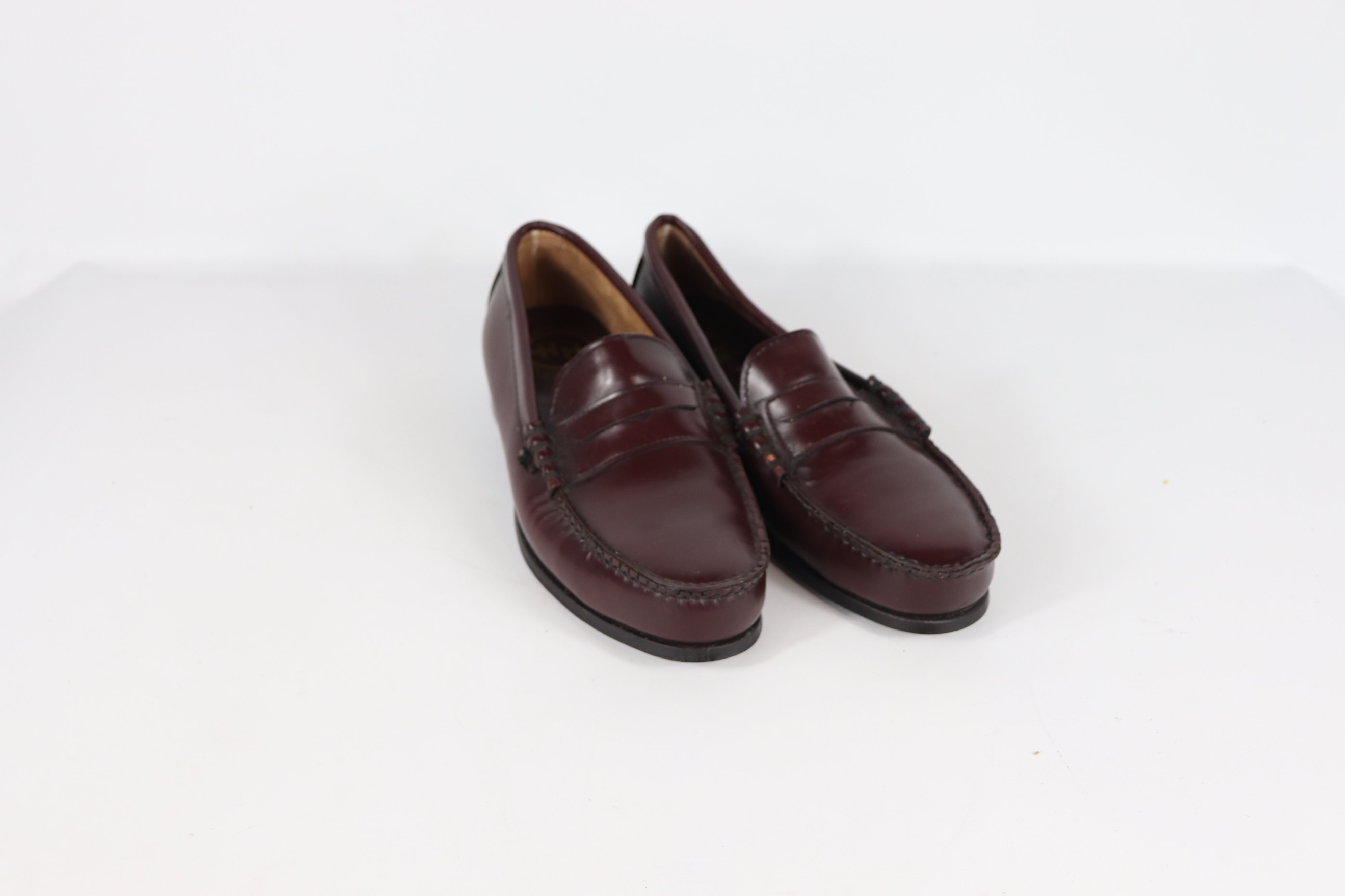 Vintage Steel Toe Shoes Steel Toe 90s New Double H Boots Mens 11.5 Leather Steel Toe Penny Loafers Dress Shoes Vintage Penny Loafers