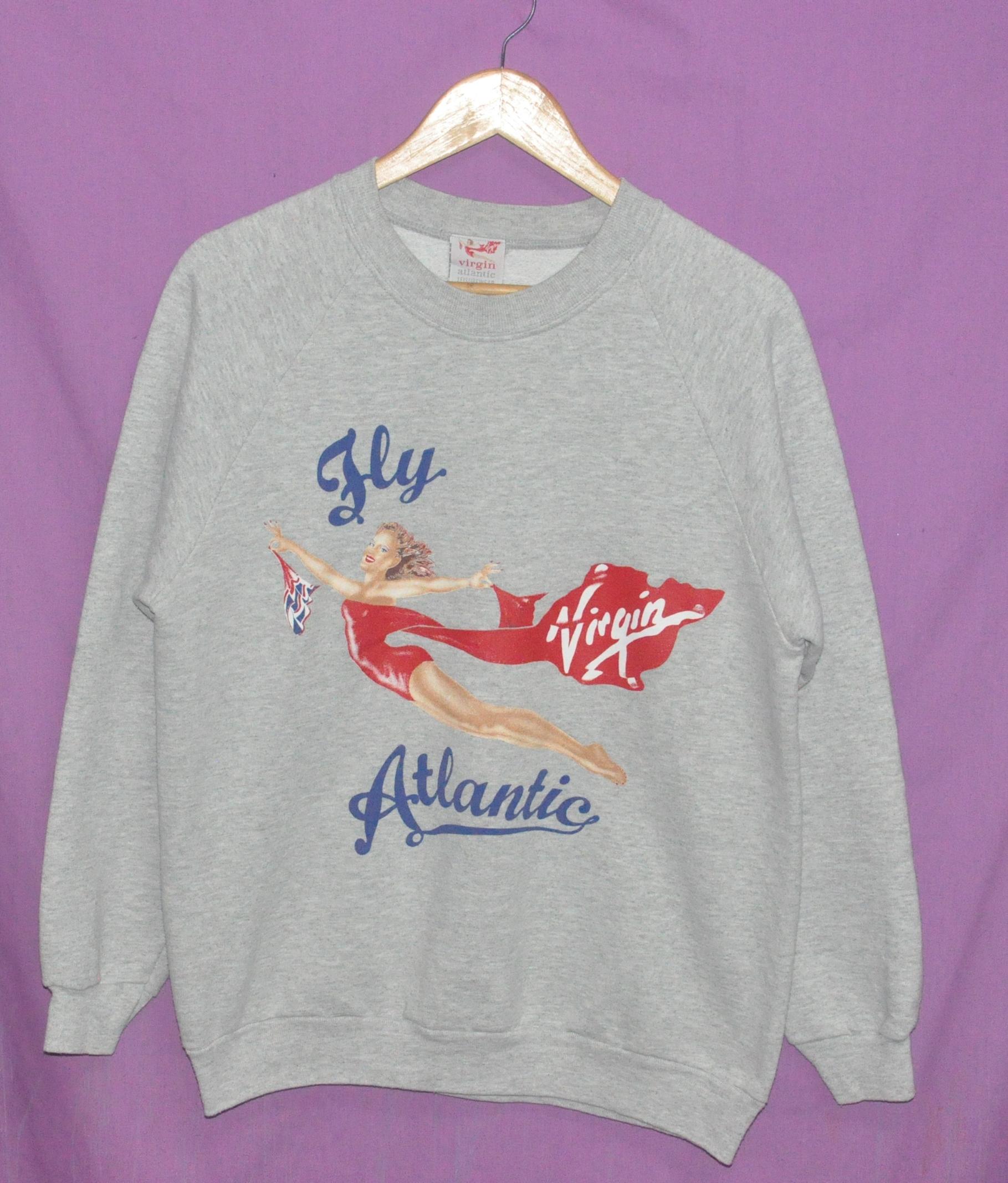 Vintage Virgin Fly Atlantic Sweatshirt