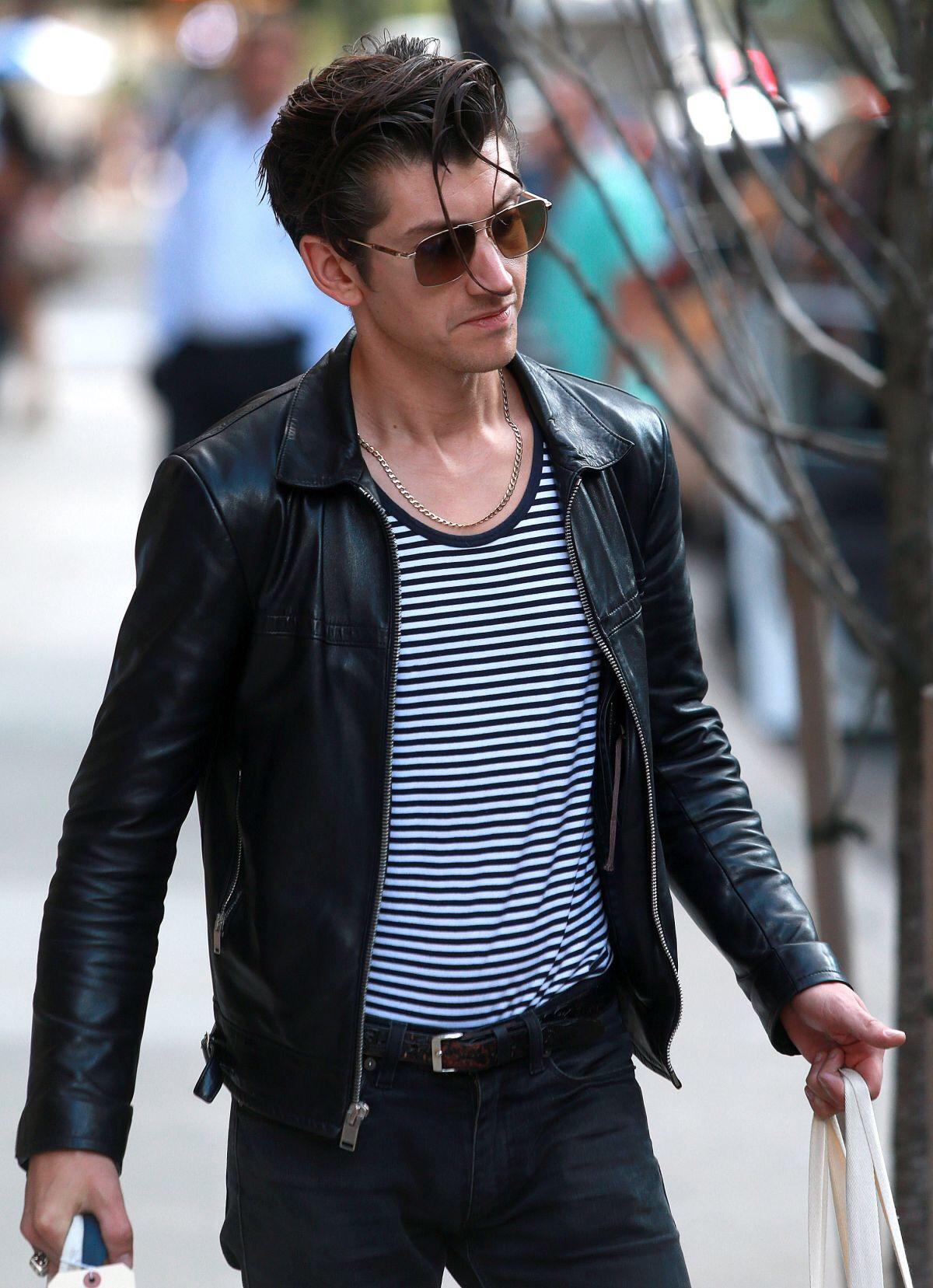 Saint Laurent Paris Saint Laurent Leather Jacket By Hedi Slimane Grailed