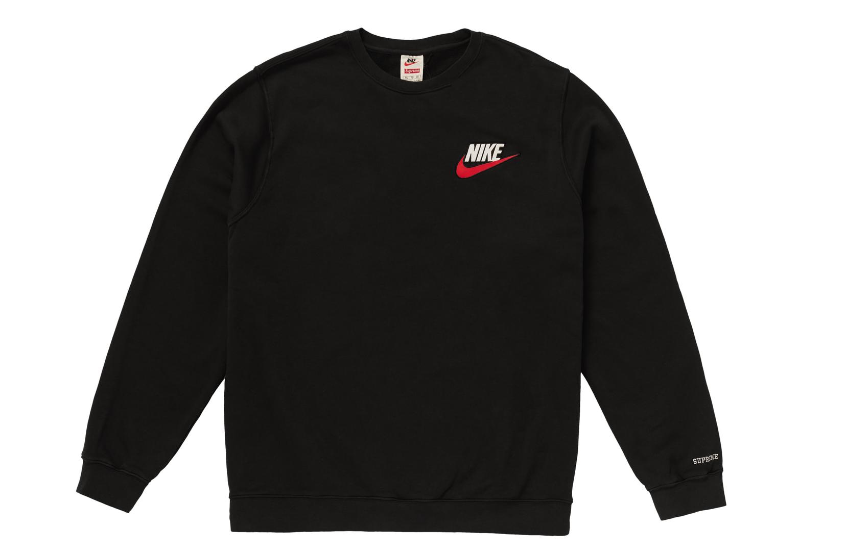 a897f143 Supreme Supreme Nike Crewneck Black Size L | Grailed