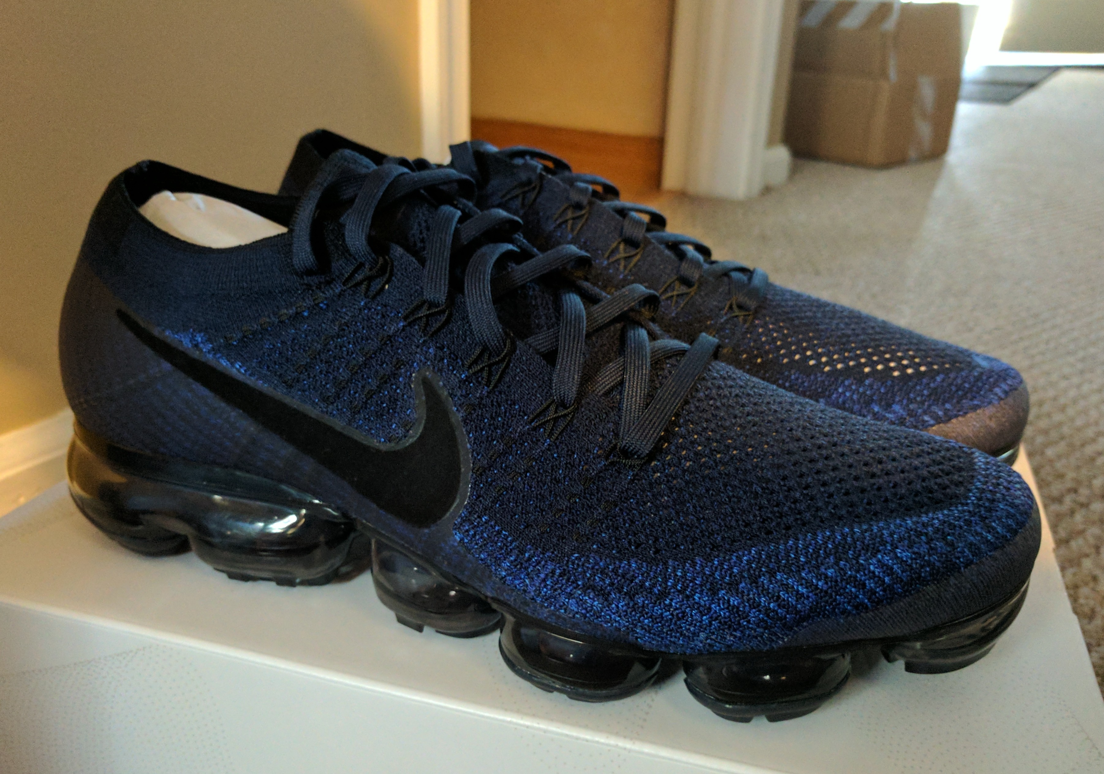 5999b6b5254a0 Nike Nike Air Vapormax Midnight Navy | Grailed