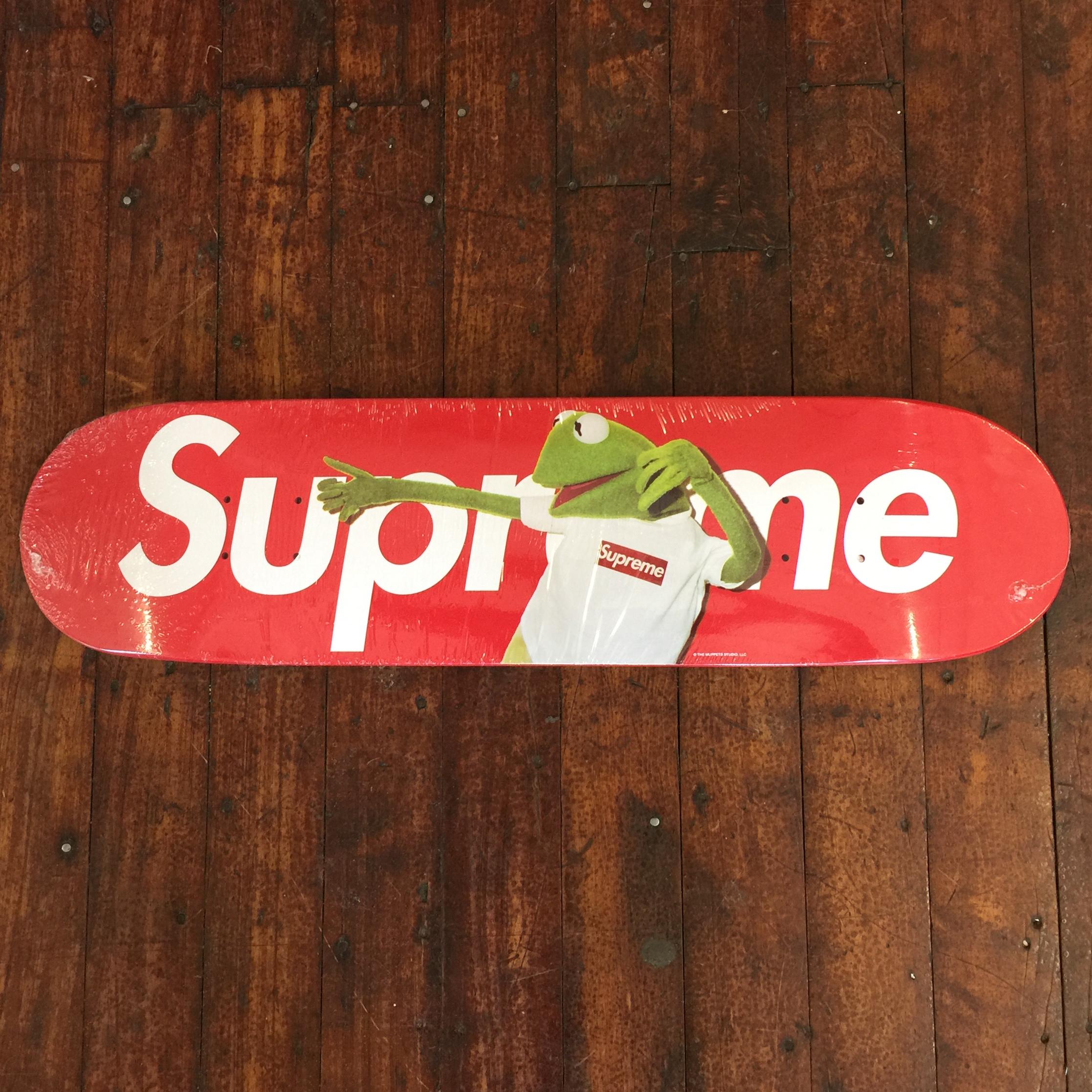bdb15d2b37 Supreme ×. Kermit Skateboard Deck. Size: ONE SIZE