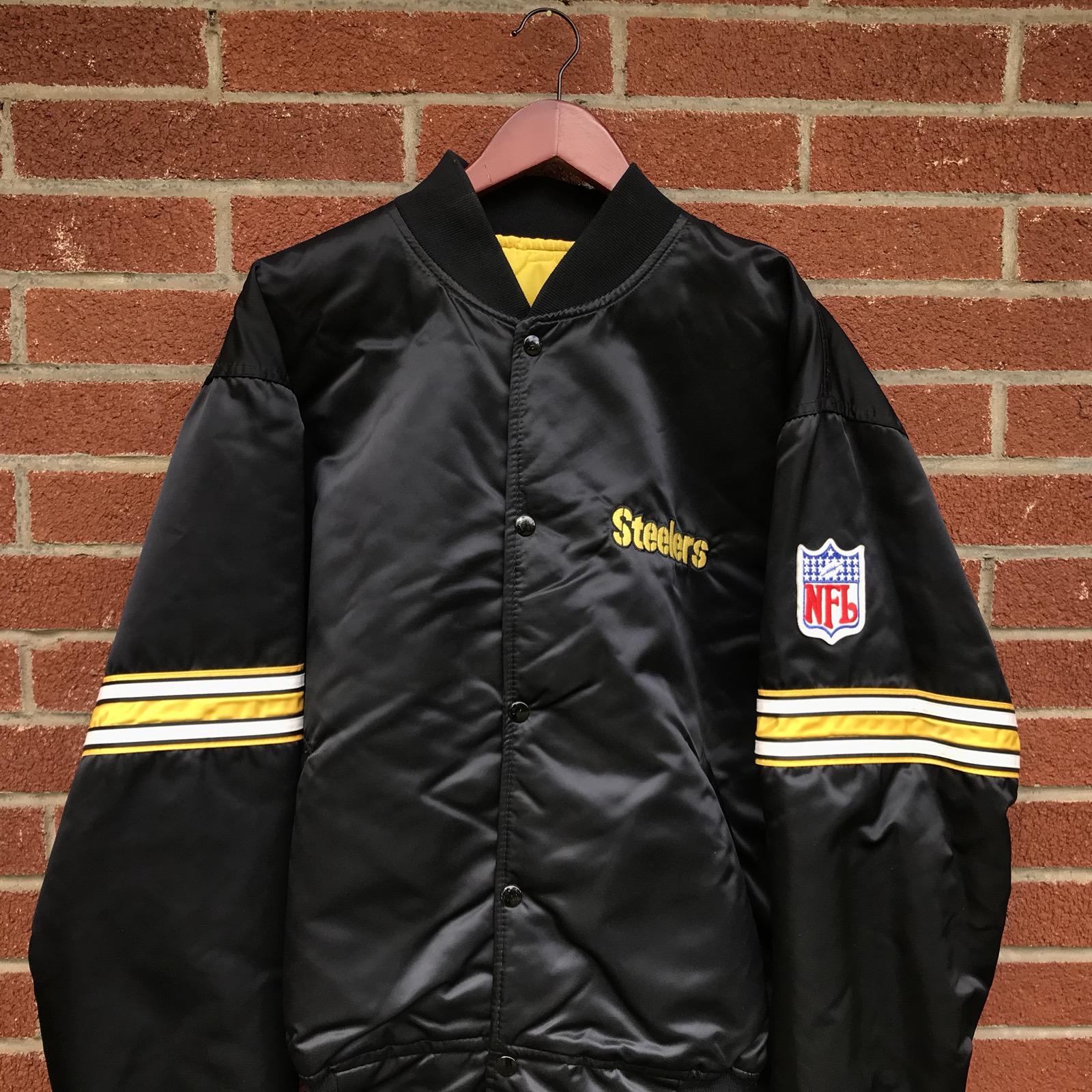 Starter Vintage Pittsburgh Steelers Pro Line Starter Jacket Size xxl ... f63b6851d