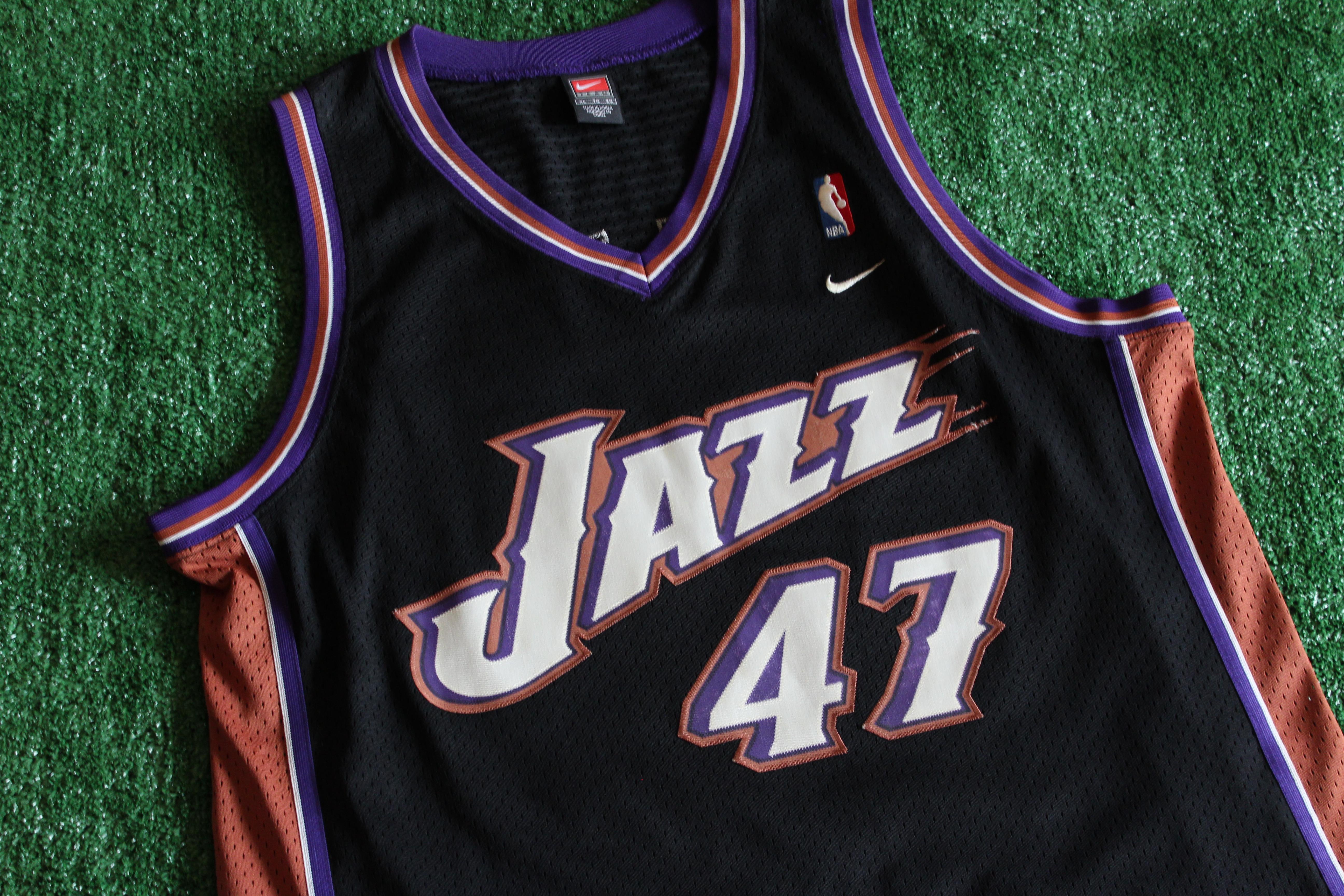 buy popular 17e4a 4ff8c Vintage Utah Jazz Andrei Kirilenko #47 Nike Jersey