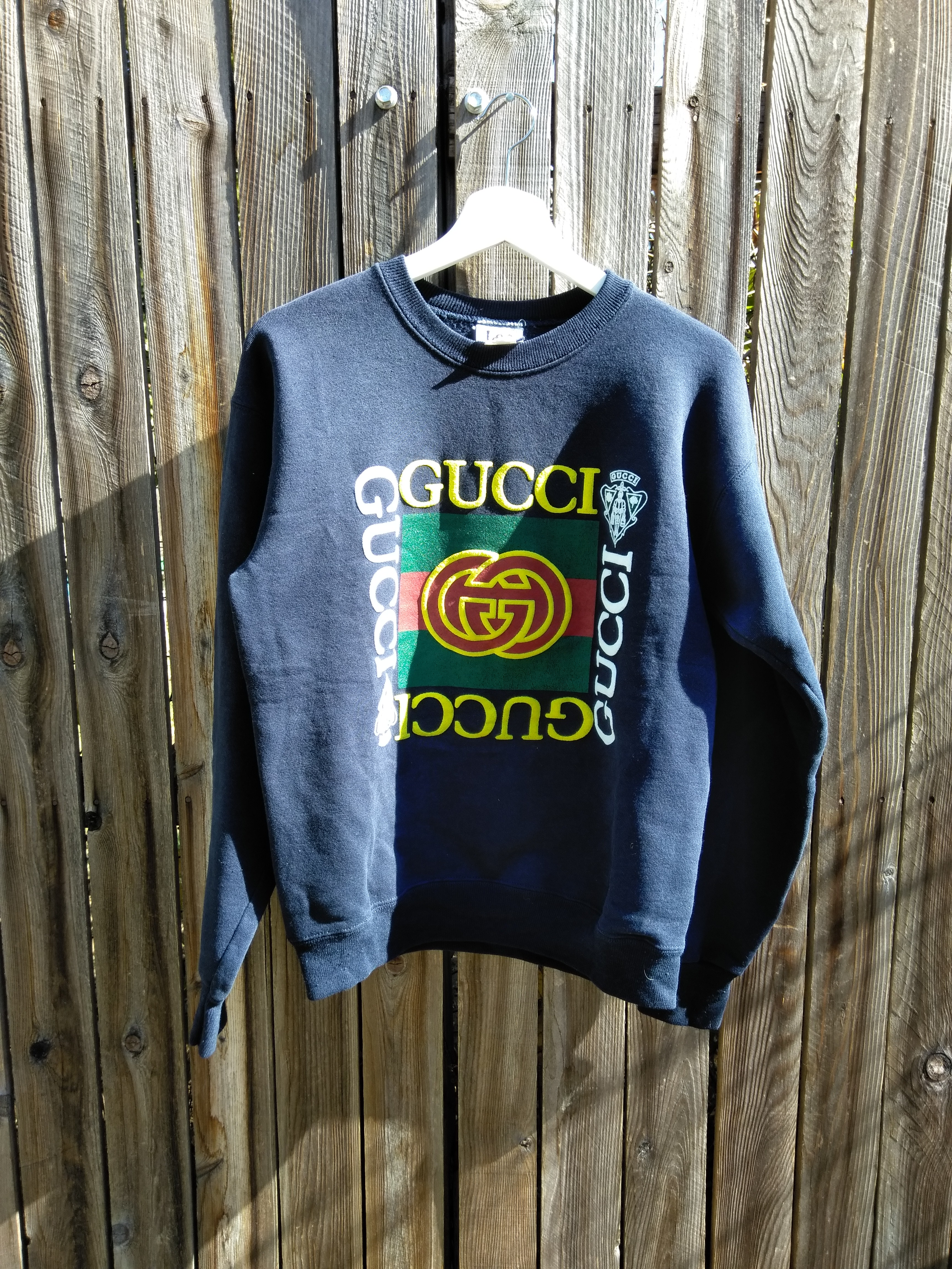 423de811915 Vintage Vintage Gucci Crewneck Dapper Dan 80 s 90 s Hip hop fashion Rare Size  m - Sweatshirts   Hoodies for Sale - Grailed