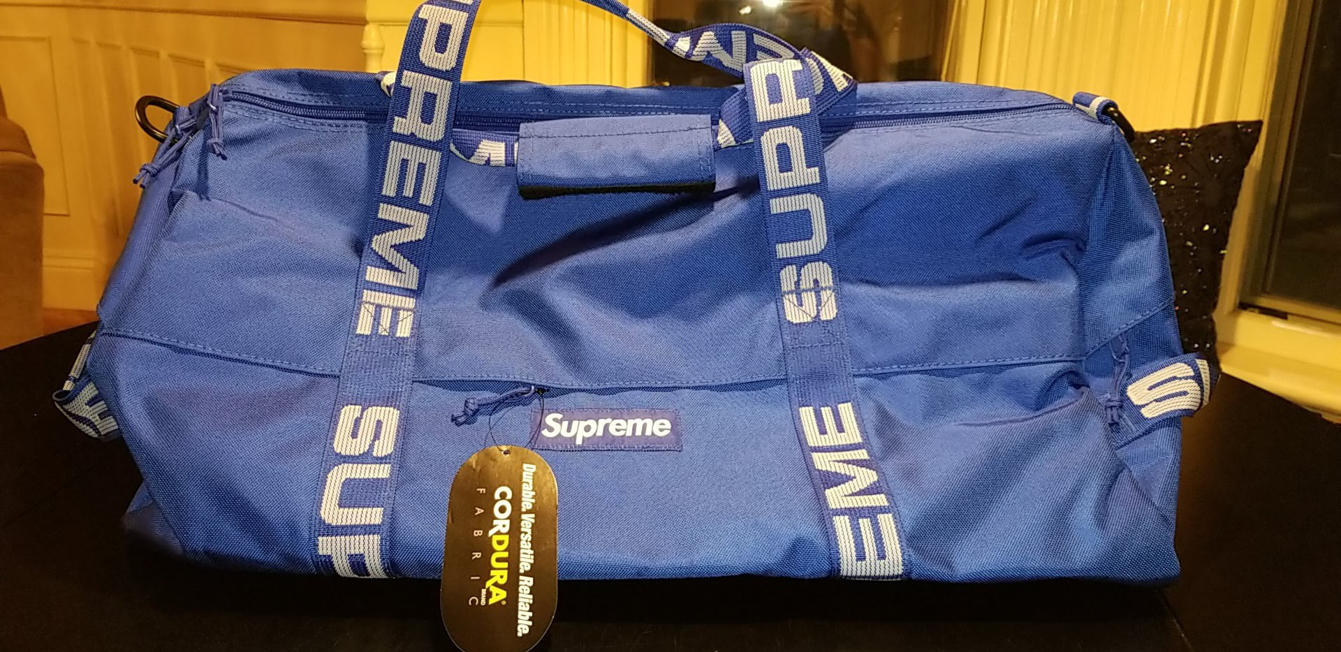 Supreme Supreme Duffle Bag SS18 Royal Blue Size one size - Bags   Luggage  for Sale - Grailed b682c9c3380ac