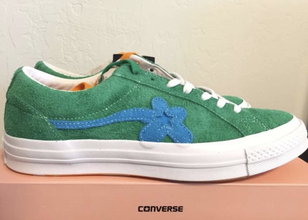 2cf234bf3be Converse Odd Future Tyler The Creator Golf Le Fleur Converse Size 10 -  Low-Top Sneakers for Sale - Grailed