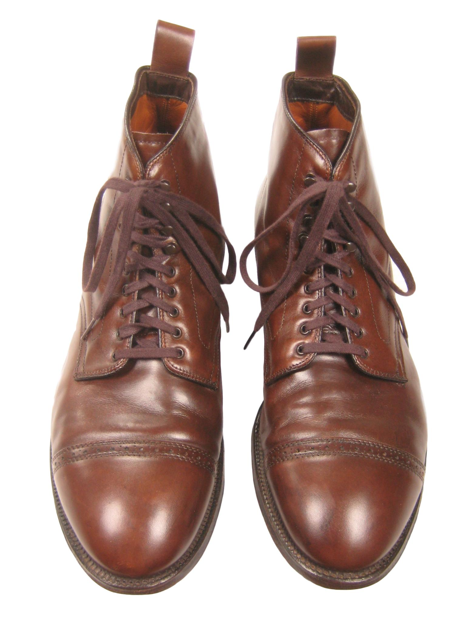 feab59459b Alden Alden X Conformal Shoe Store Nyc Cap-toe Brown Leather Ankle ...