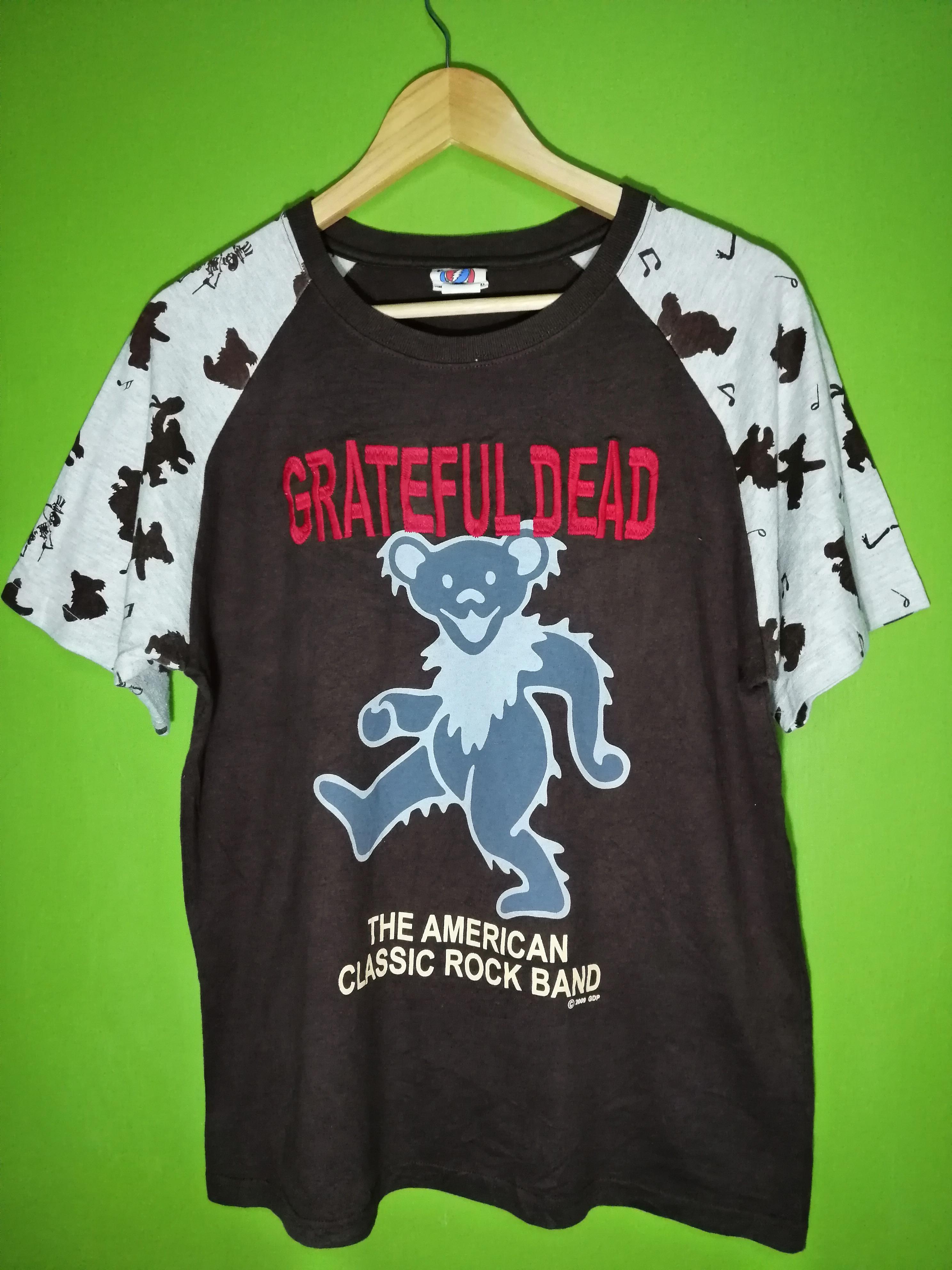 Vintage Vintage Grateful Dead Band Tshirt Embroidery Big Logo